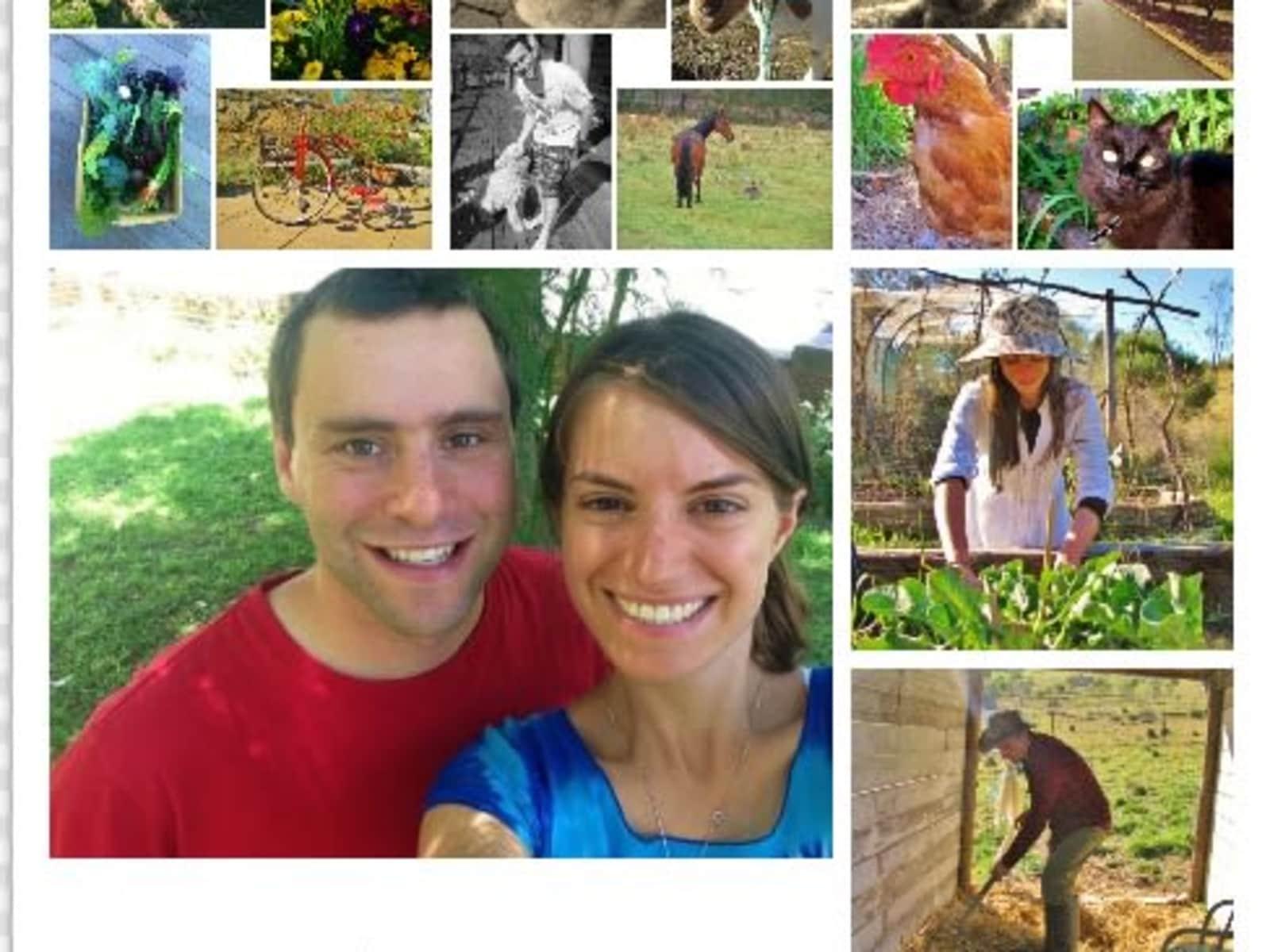 Jeremy & Rachel from Canberra, Australian Capital Territory, Australia