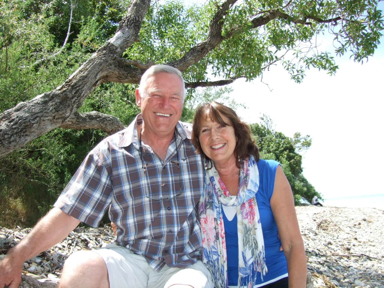 Ana & jim & Jim from Nelson, New Zealand