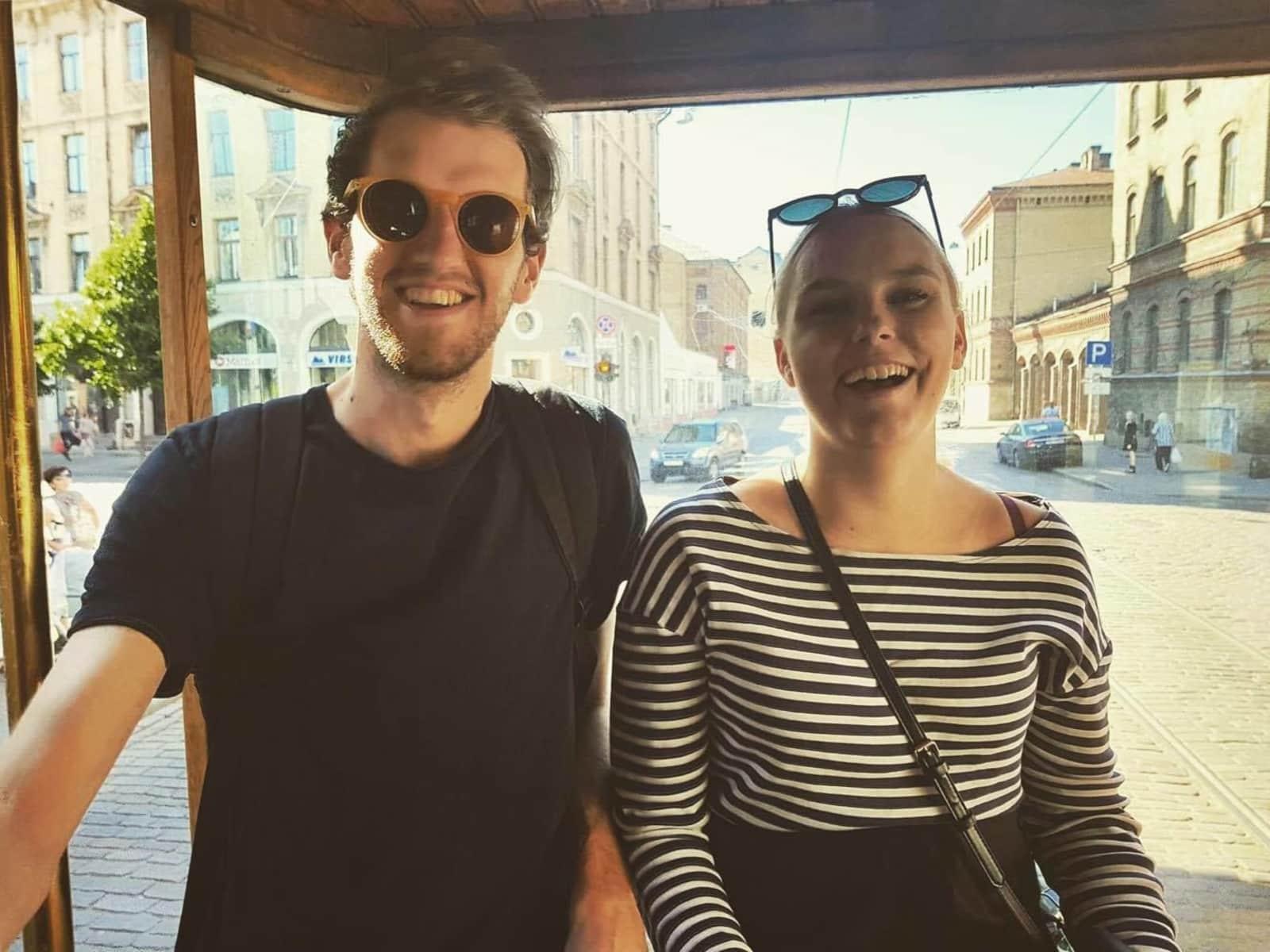 Daniel & Annie from Middlesbrough, United Kingdom