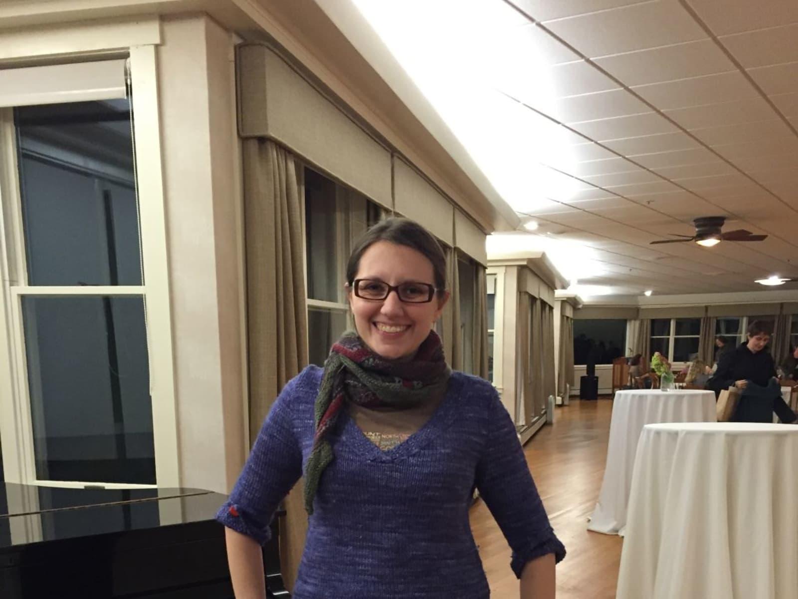 Kate from Boston, Massachusetts, United States
