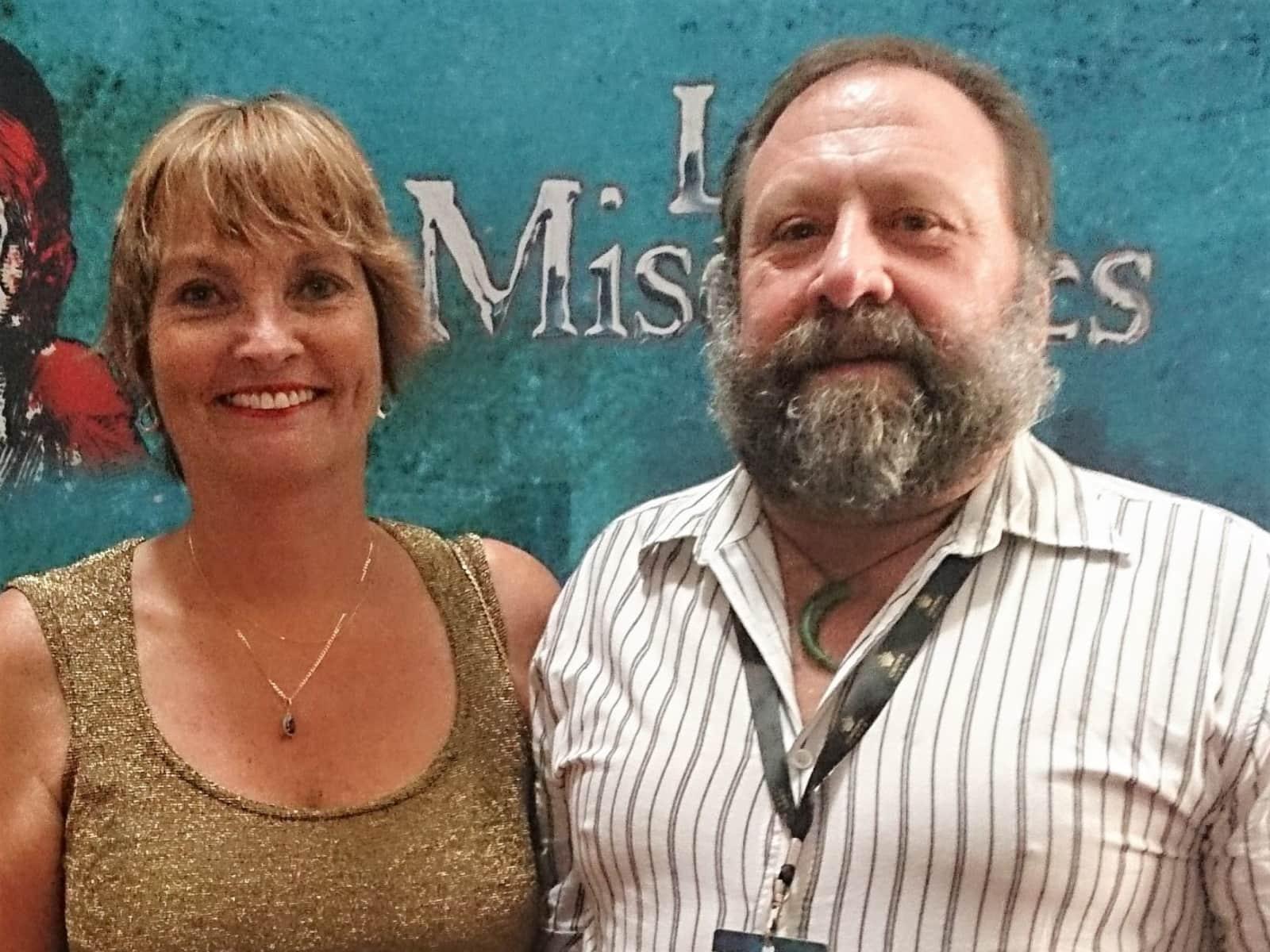 Keith and shelley & Shelley from Kerikeri, New Zealand