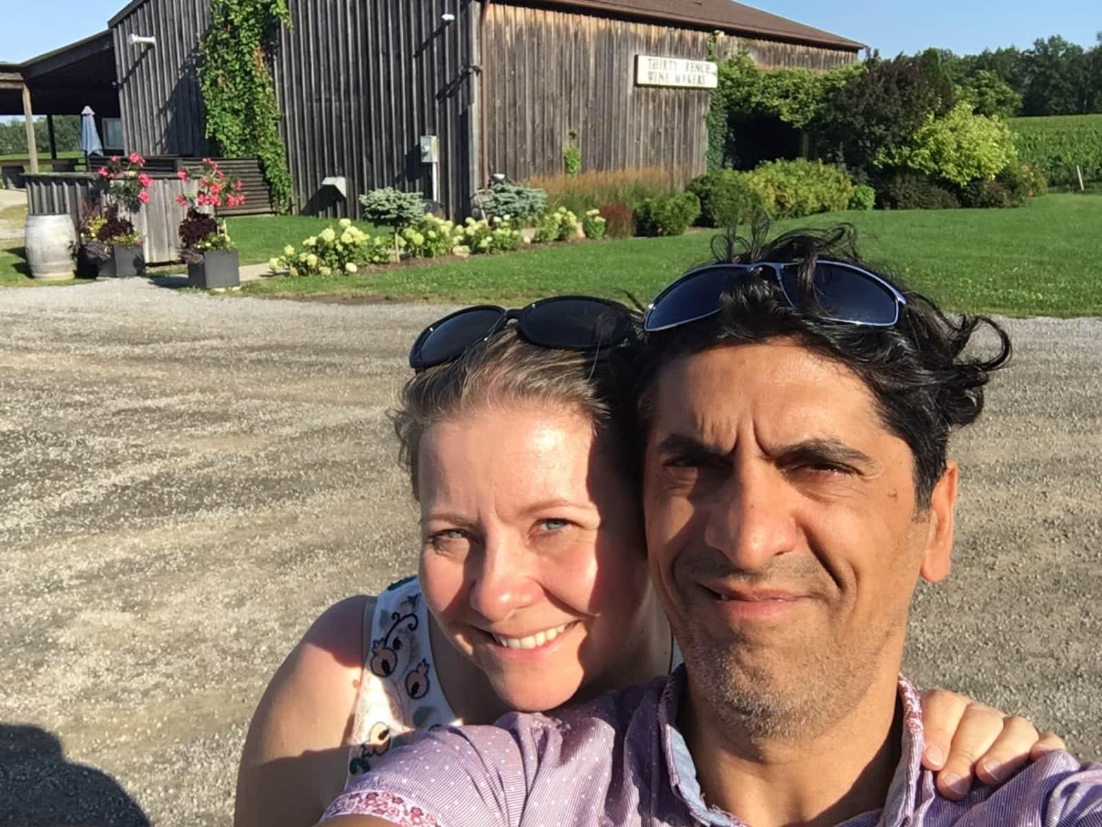 Sylvia & Eli from Calgary, Alberta, Canada