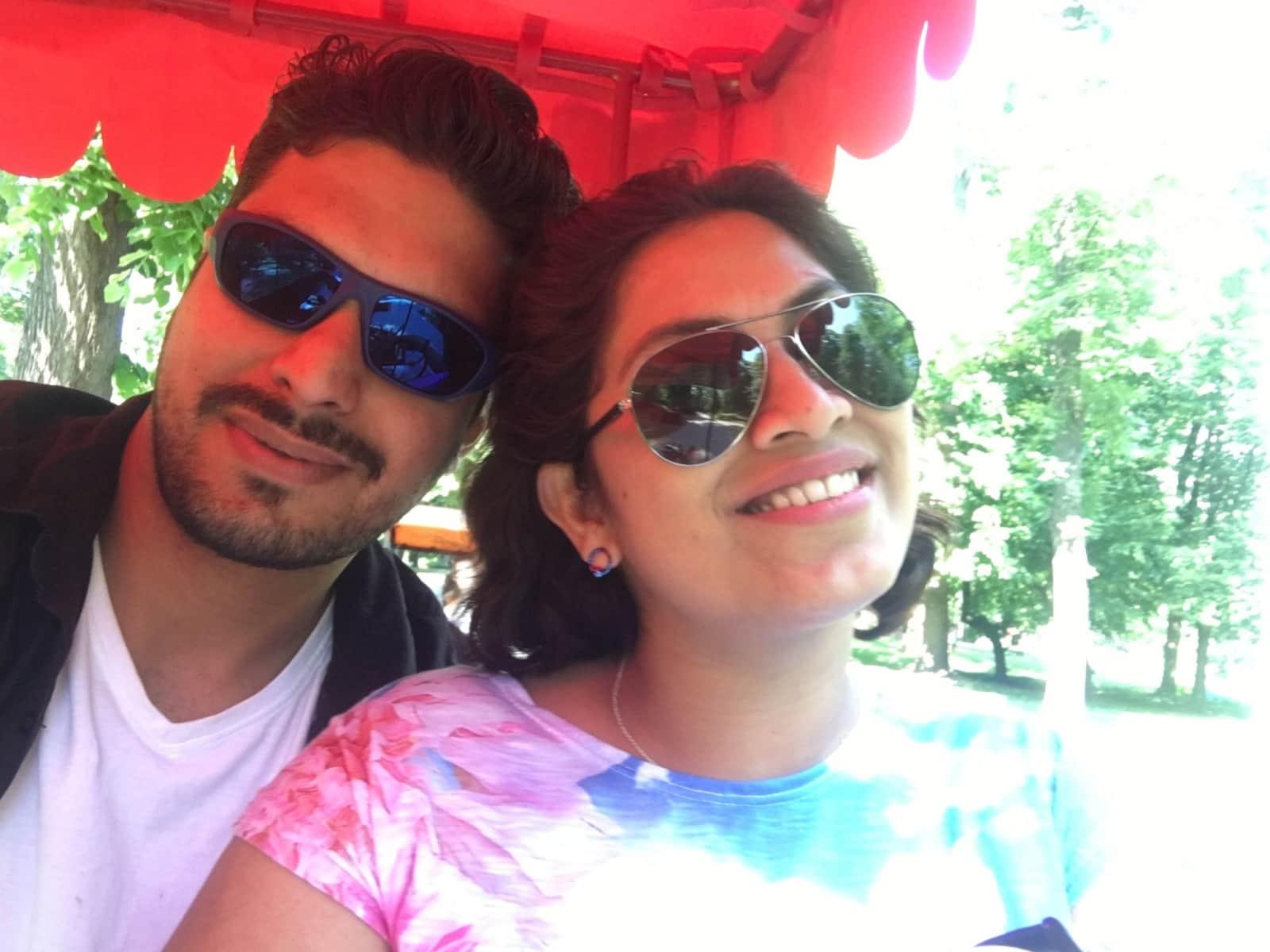 Vijay & Priyanka from Vienna, Austria
