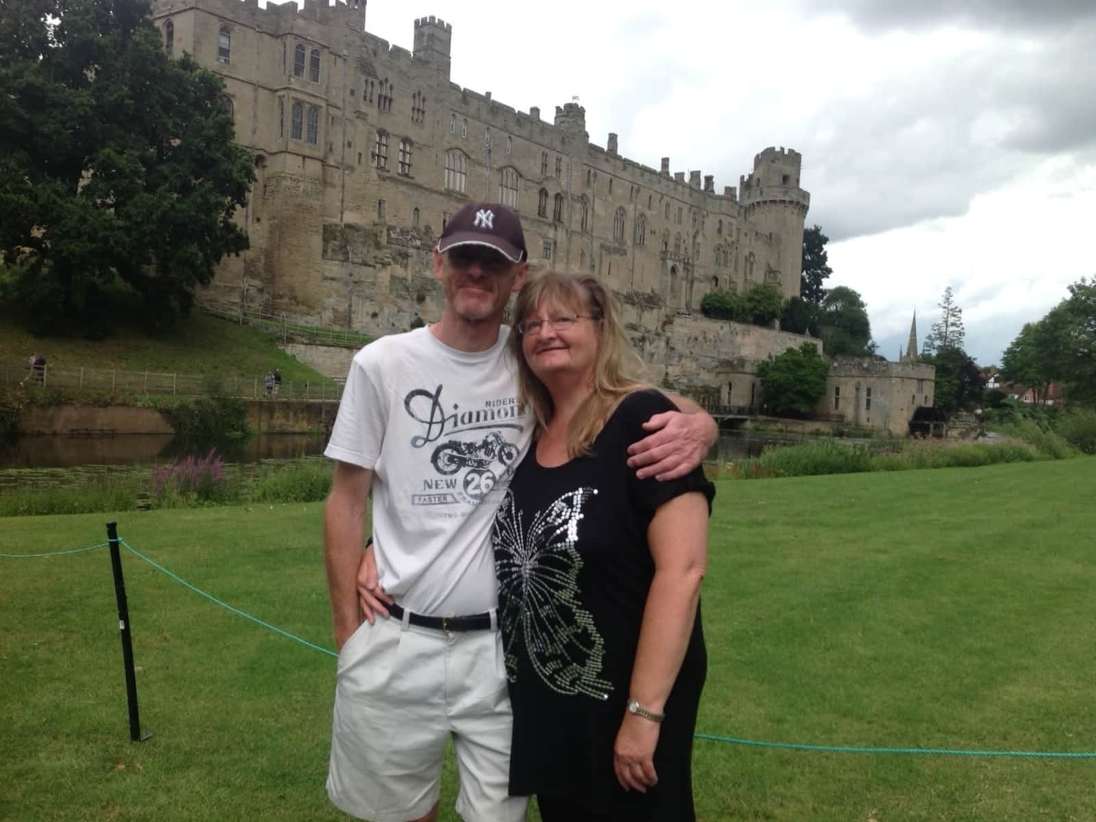 Joe & Carolyn from Dunchurch, United Kingdom