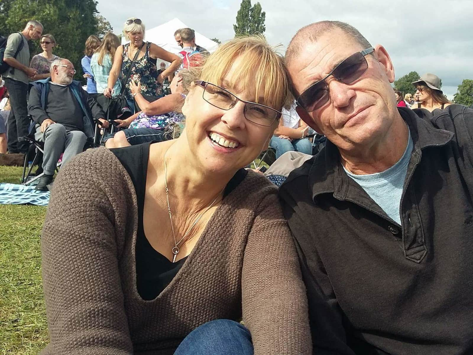 Carol & Mark from Oxford, United Kingdom