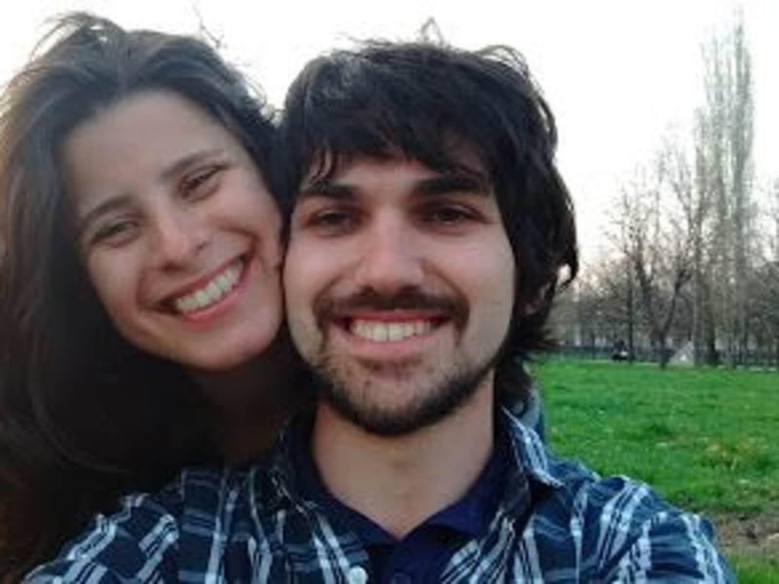 Fernando & Catarina from São Paulo, Brazil