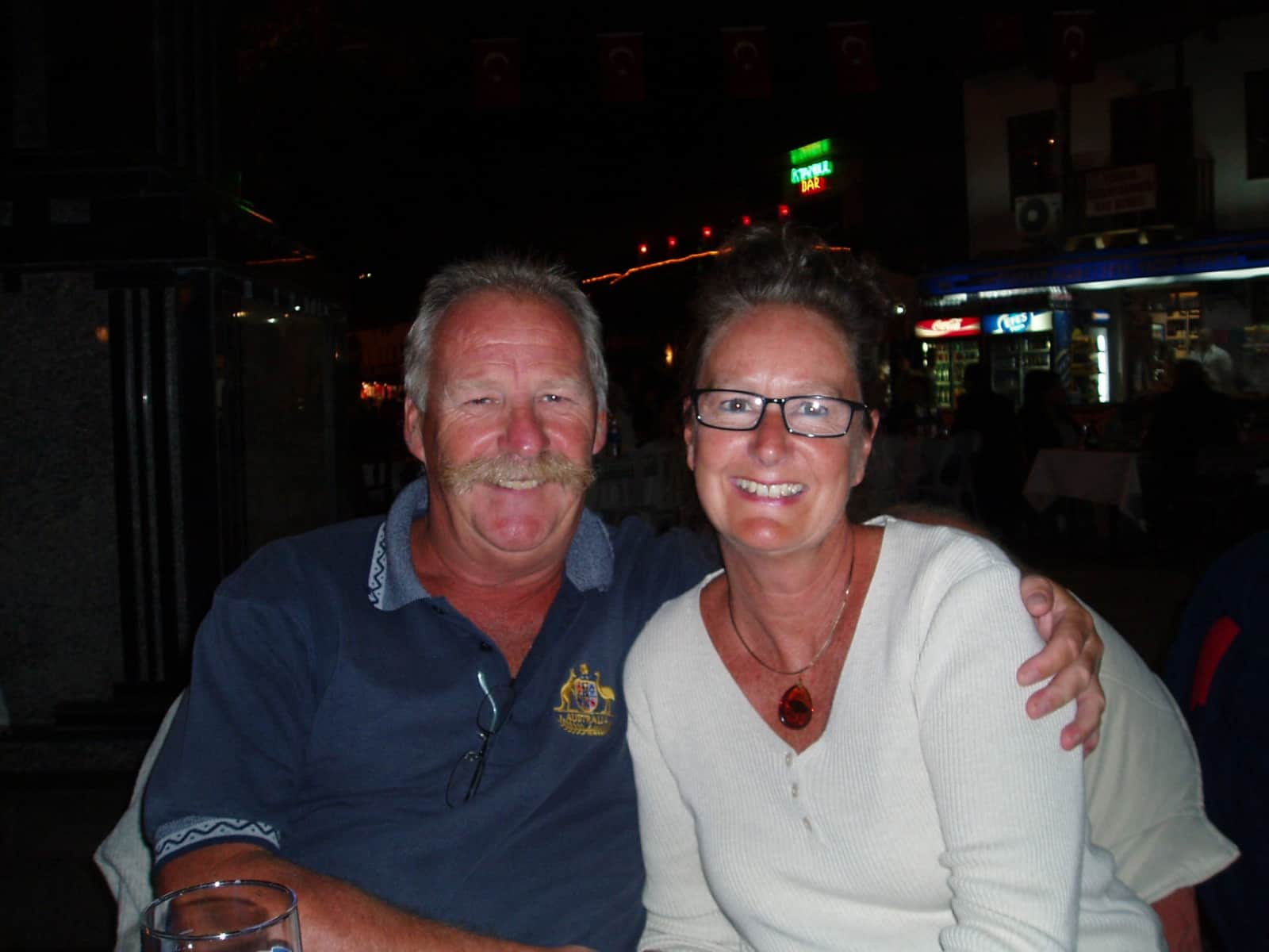 Penelope & Kevin from Carmarthen, United Kingdom