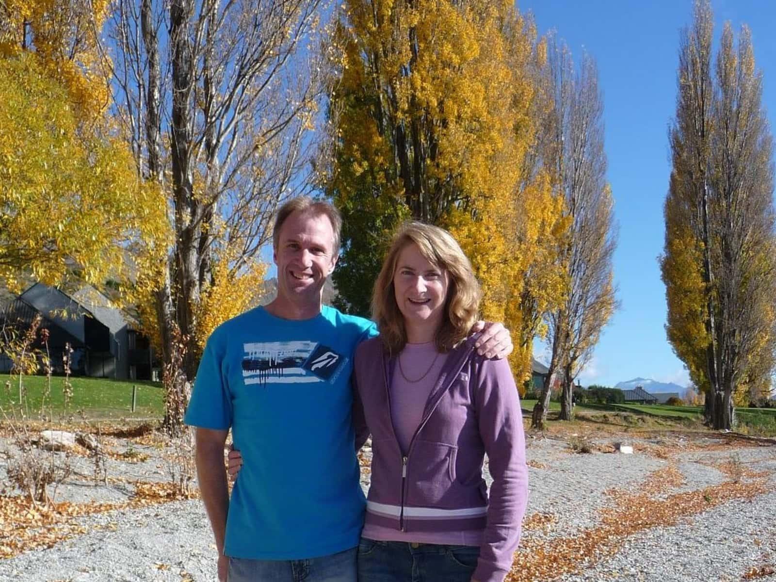 Jill & Phil from Christchurch, New Zealand