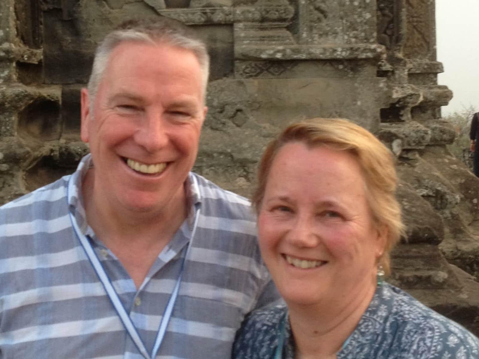 Judith & Tony from Brighton, United Kingdom
