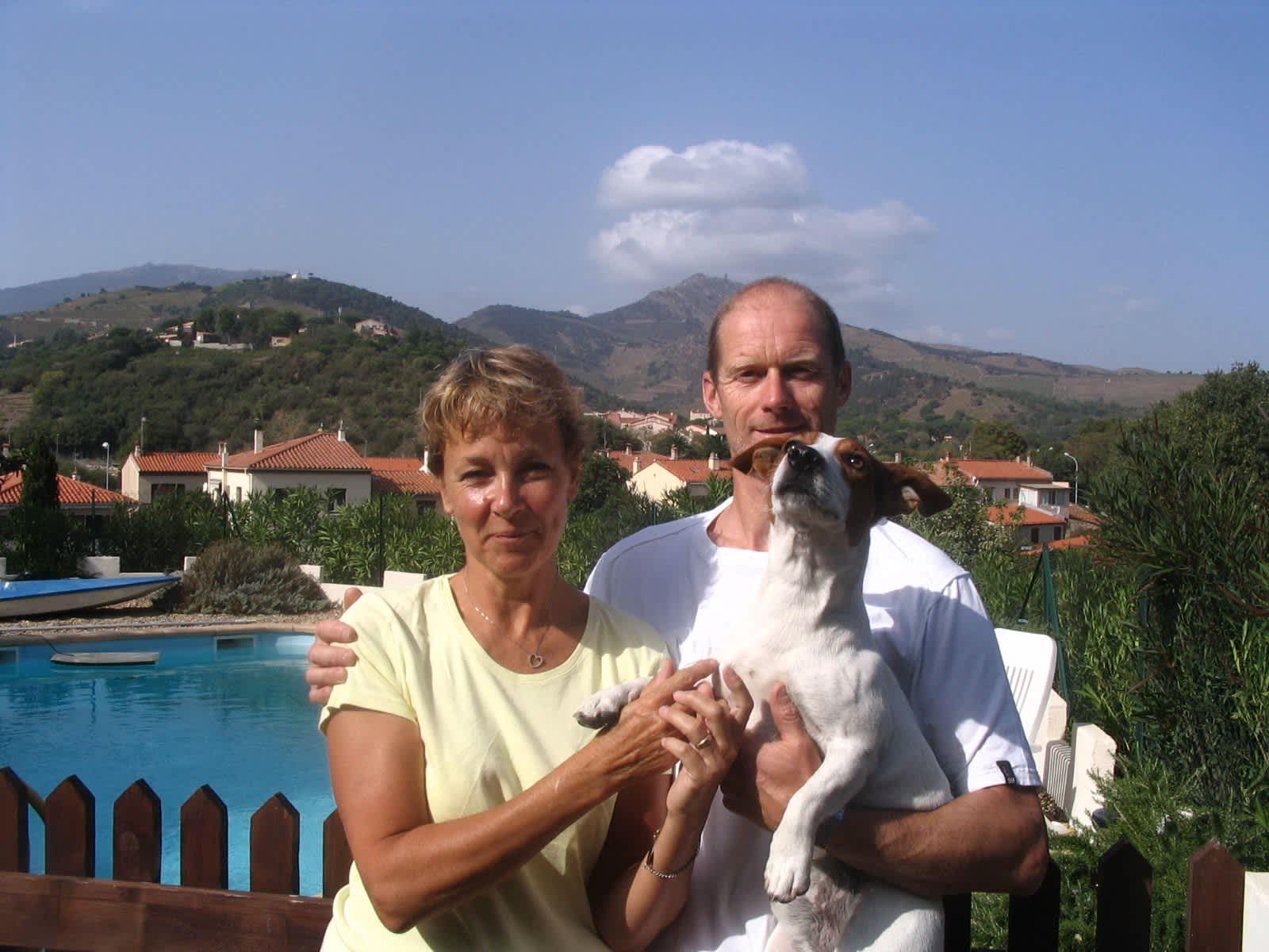 Jill & Kevin from Banyuls de la Marenda, France