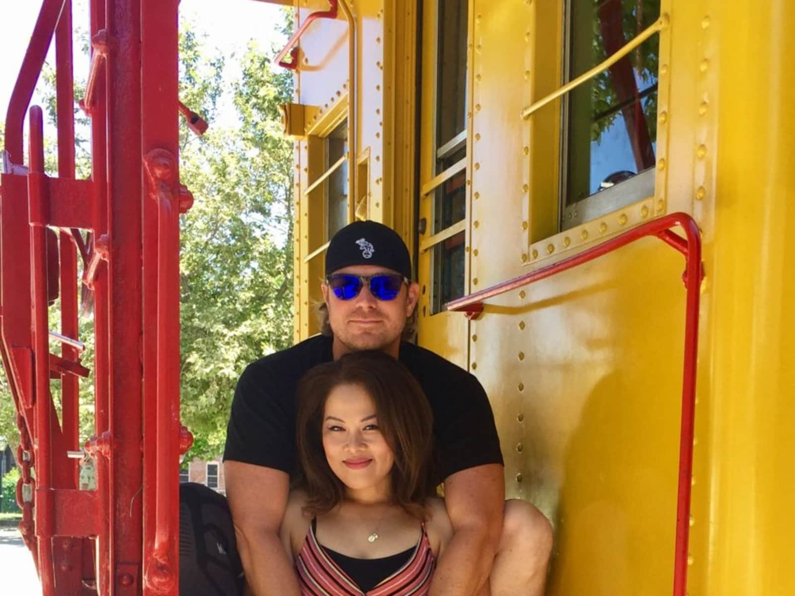 Kyra & Brandon from Sacramento, California, United States