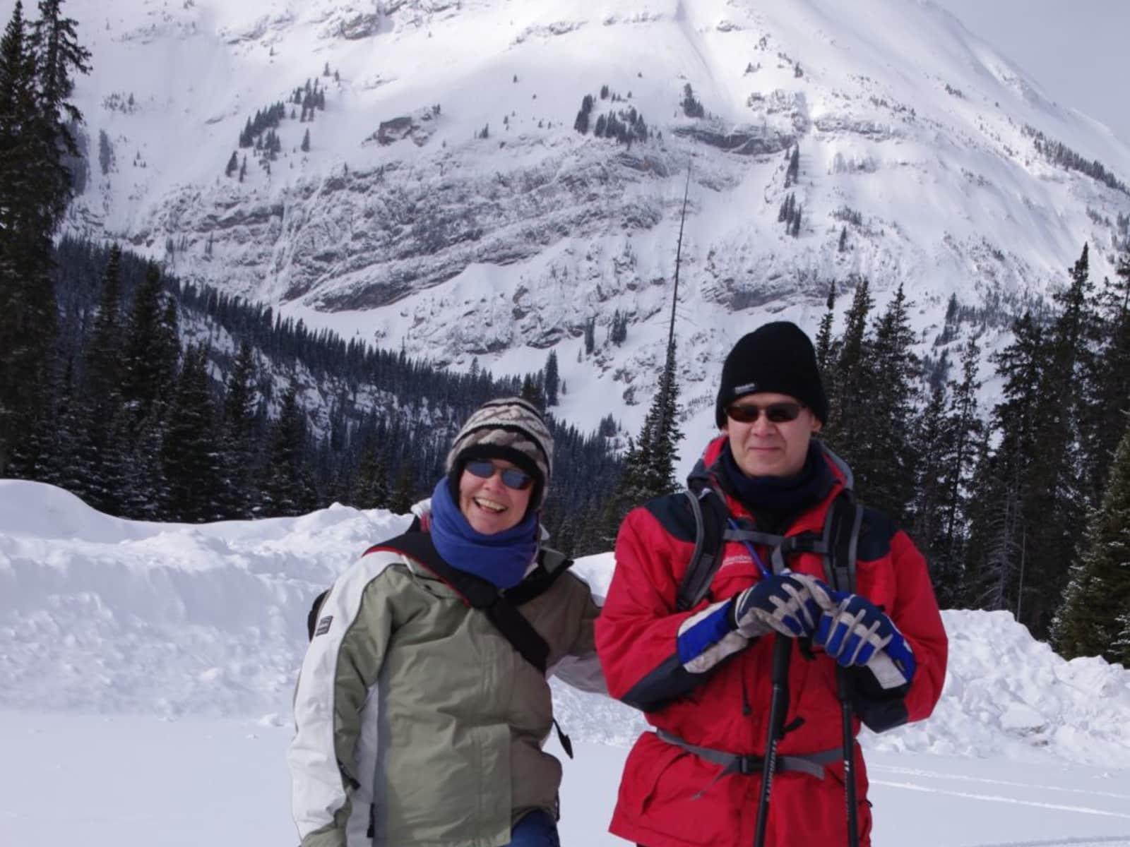 Ian & Lori from Swift Current, Saskatchewan, Canada