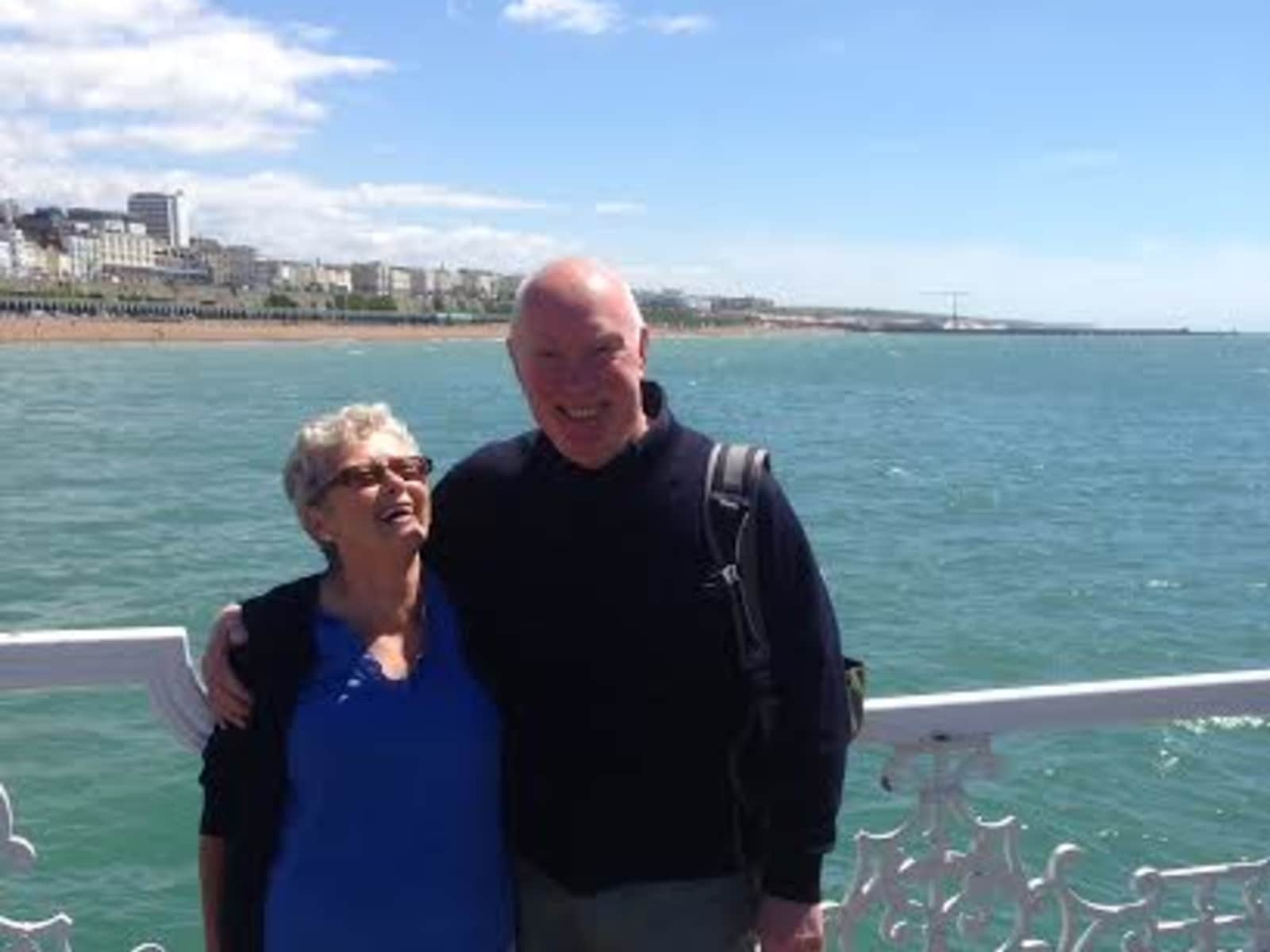 Barry & Gloria from Aberdeen, United Kingdom