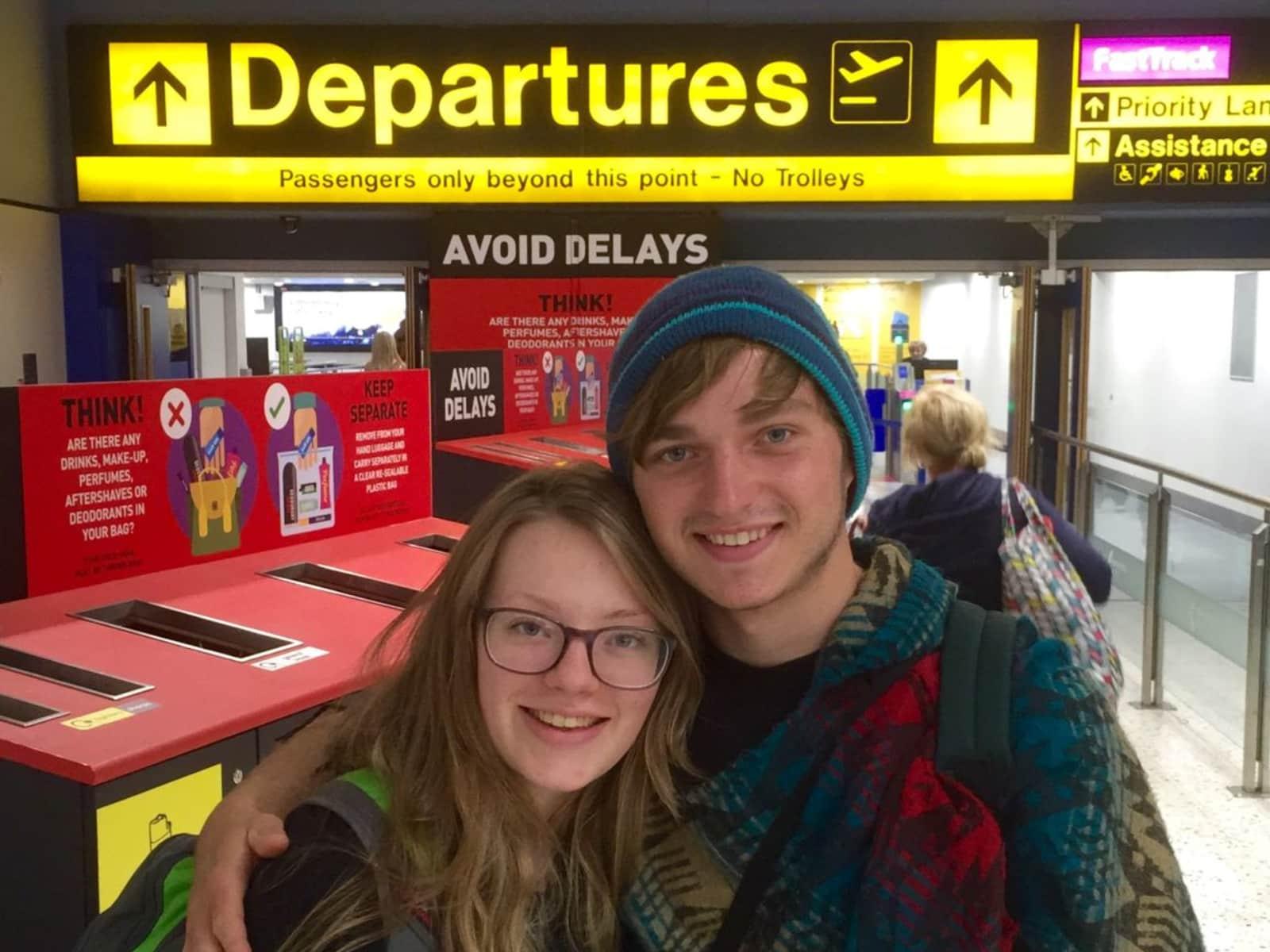 Danni & Callan from Manchester, United Kingdom