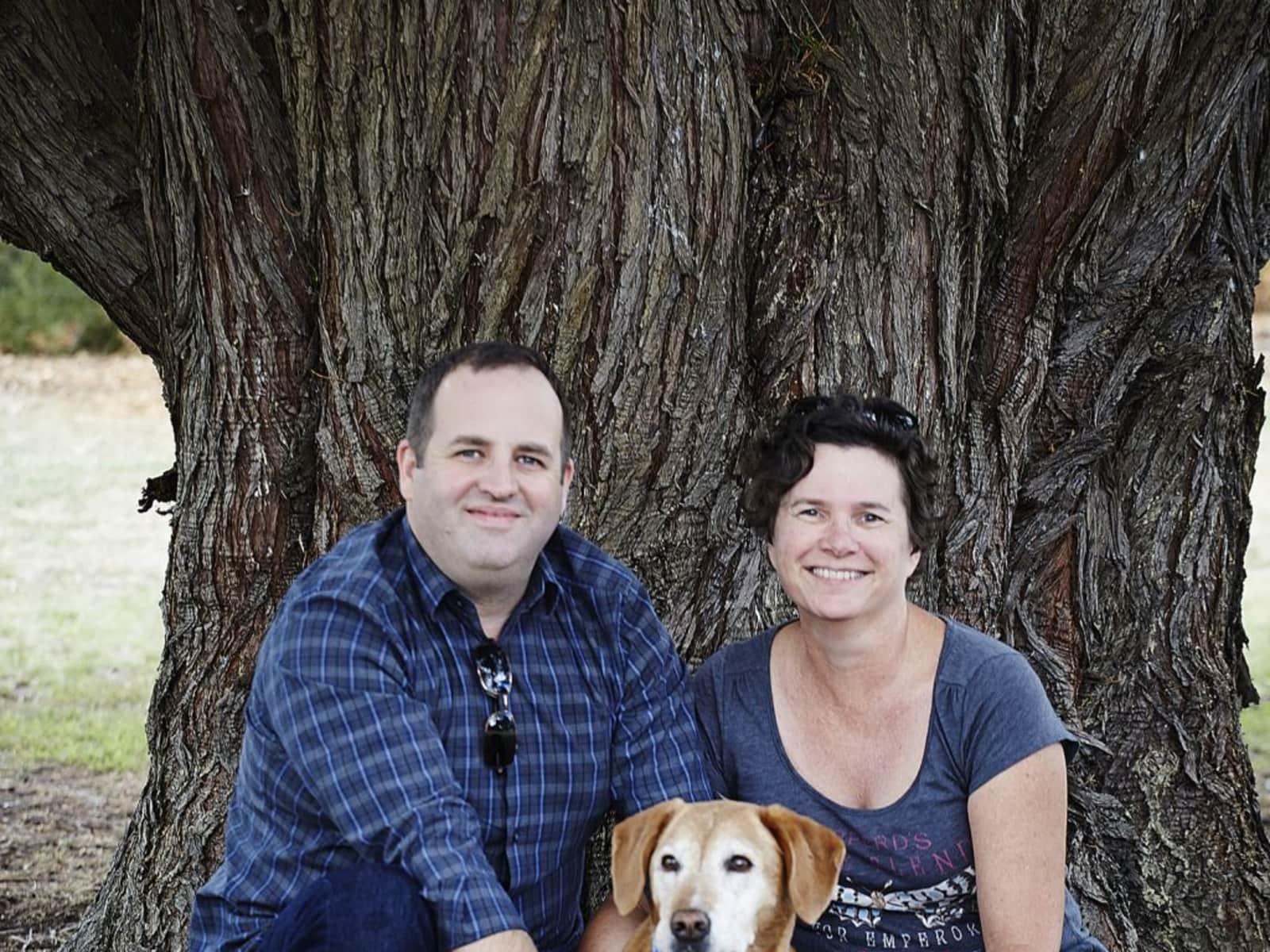 Susan & Colin from Melbourne, Victoria, Australia
