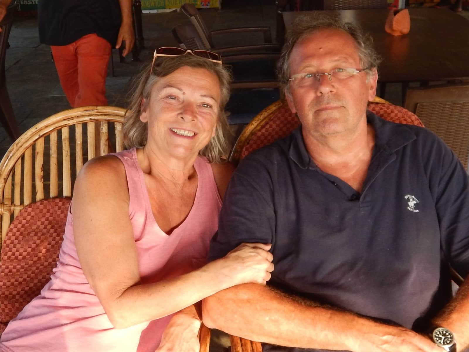 Christine & Peter from Pershore, United Kingdom