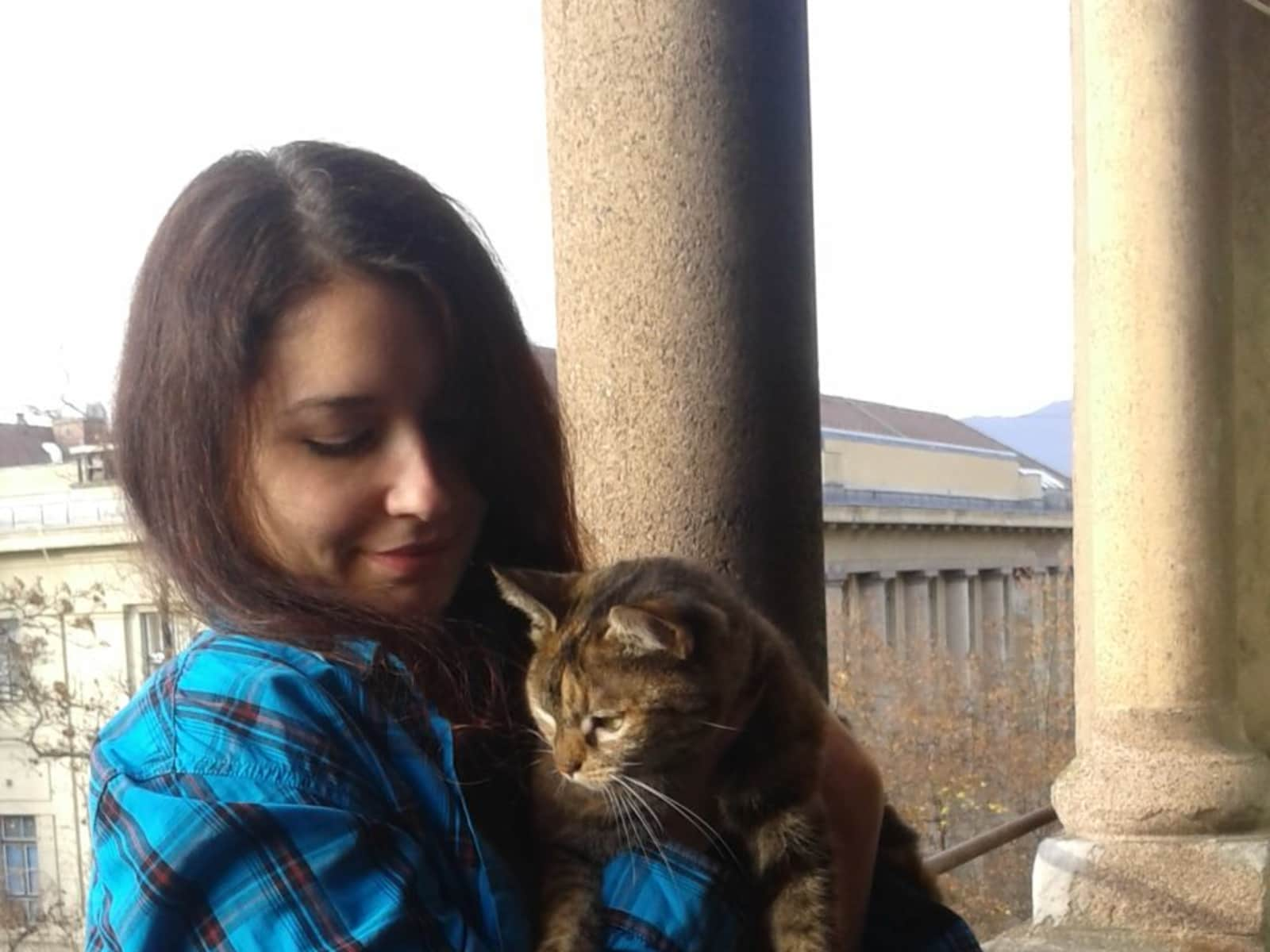 Ana from Zagreb, Croatia