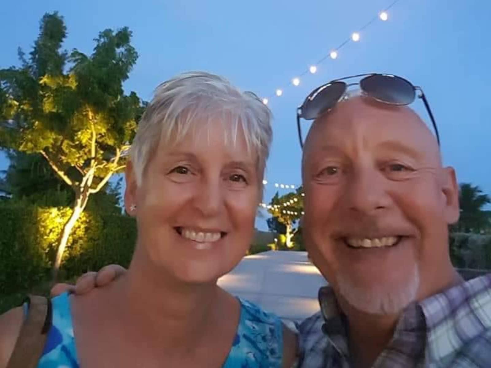 Gerard & Laraine from Oxford, United Kingdom