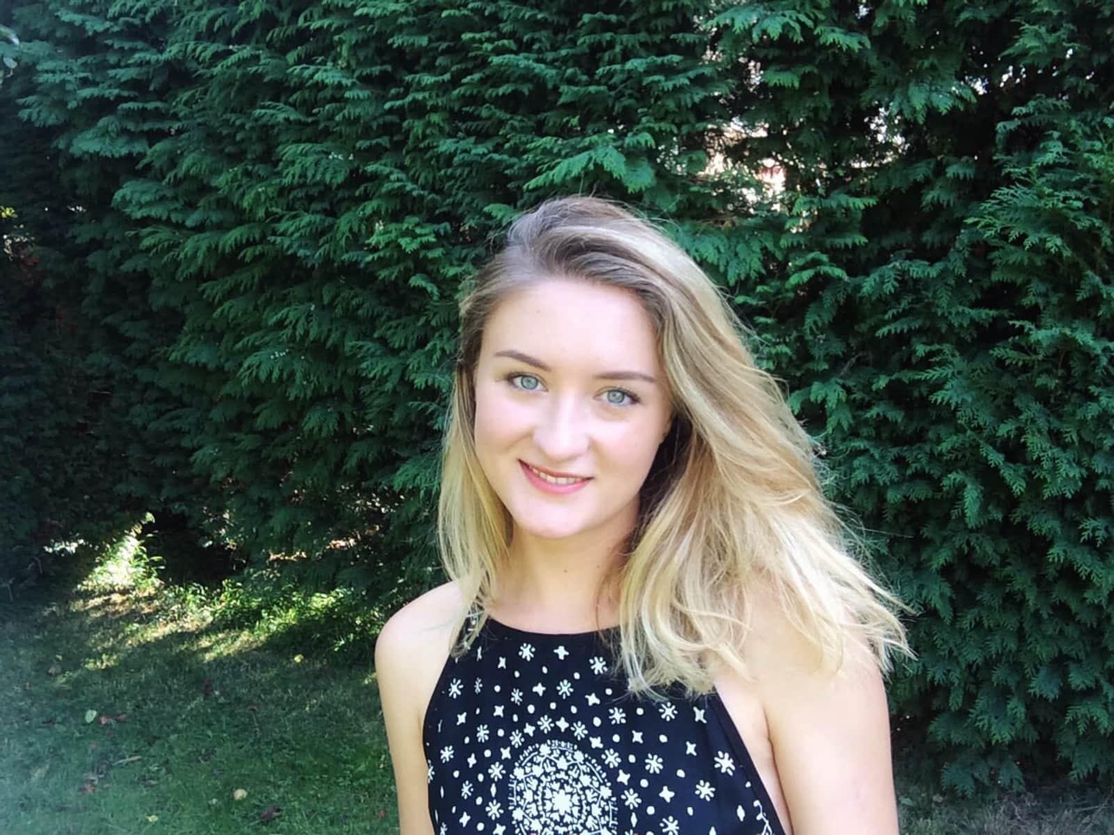 Caroline from London, United Kingdom