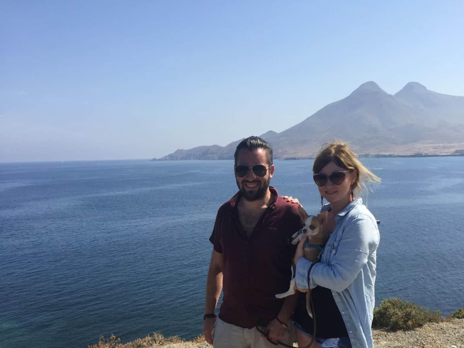 Jennifer & Jonathan from Granada, Spain