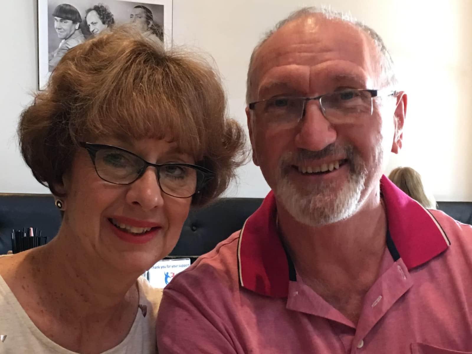 Terry & Janet from Sunbury, Victoria, Australia