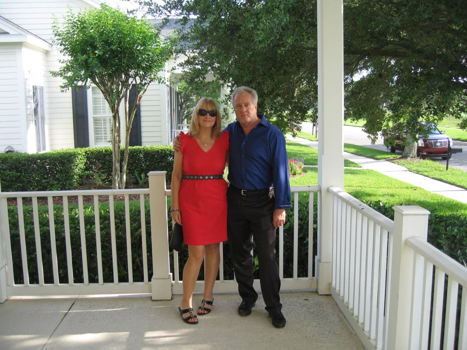 Sarah & Mark from Celebration, Florida, United States