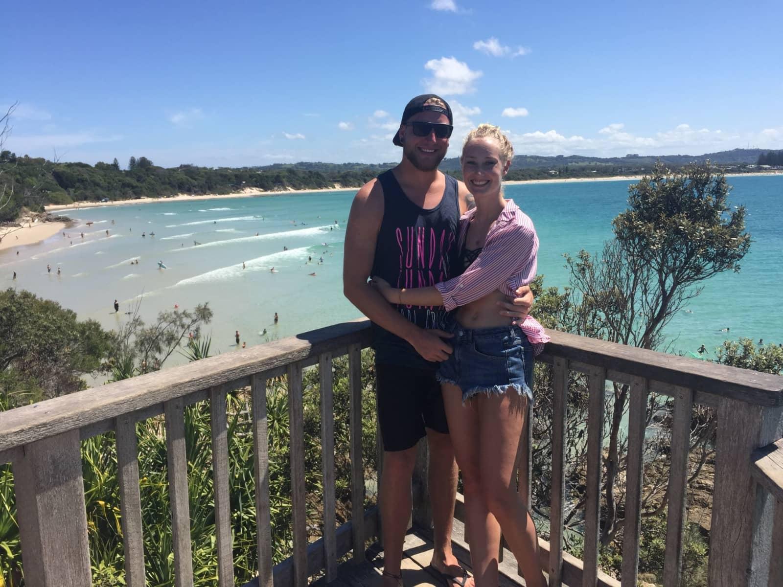 Michael & Johanna from Mount Isa, Queensland, Australia