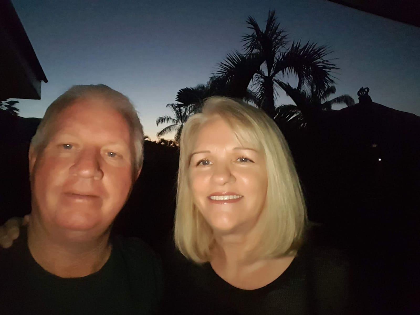 Susan & Brian from Brinsmead, Queensland, Australia