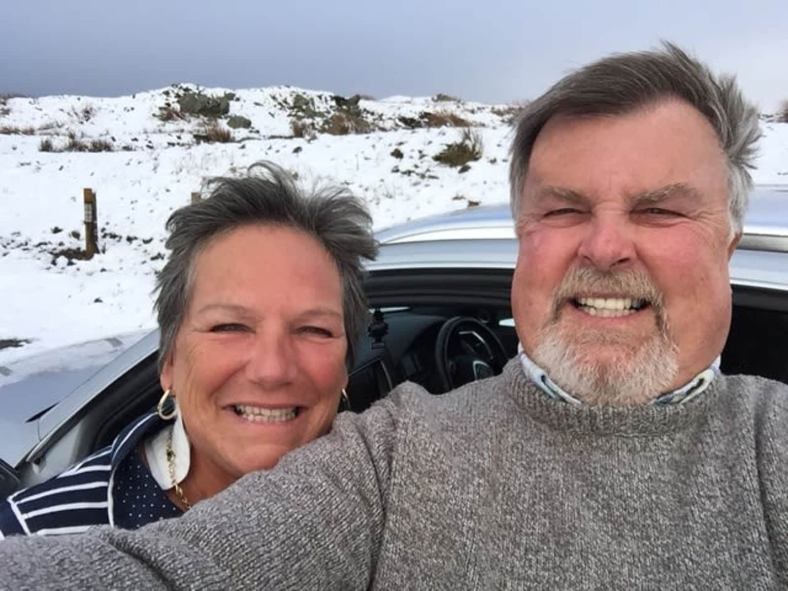 Pauline & Howard from Stafford, United Kingdom