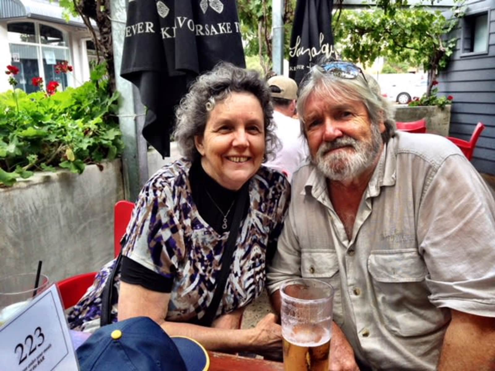 Maryanne & Bill from Landsborough, Queensland, Australia