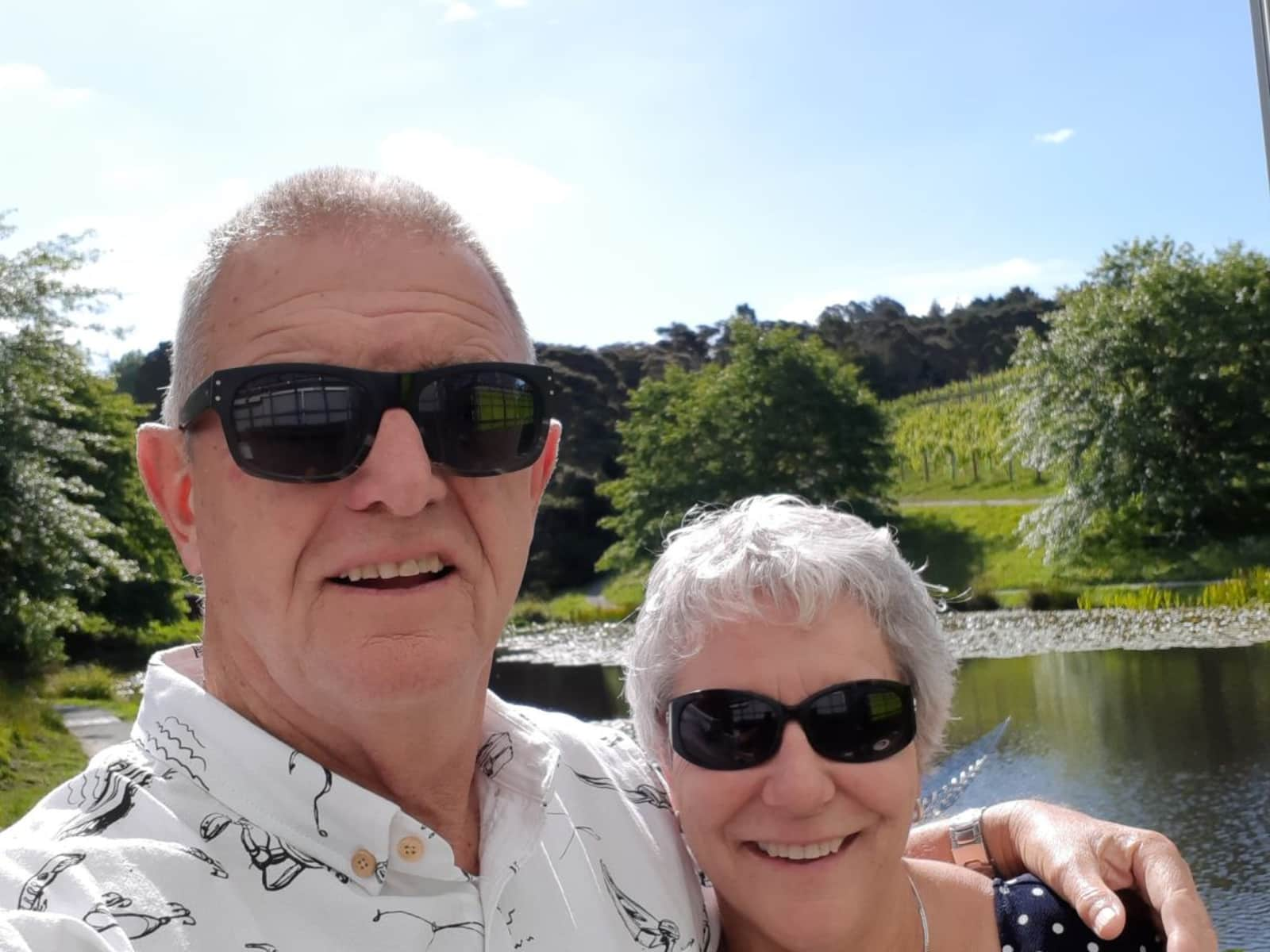 Robyn & Don from Paihia, New Zealand