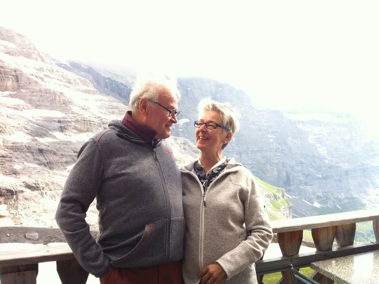 Katharina & Werner from Thun, Switzerland