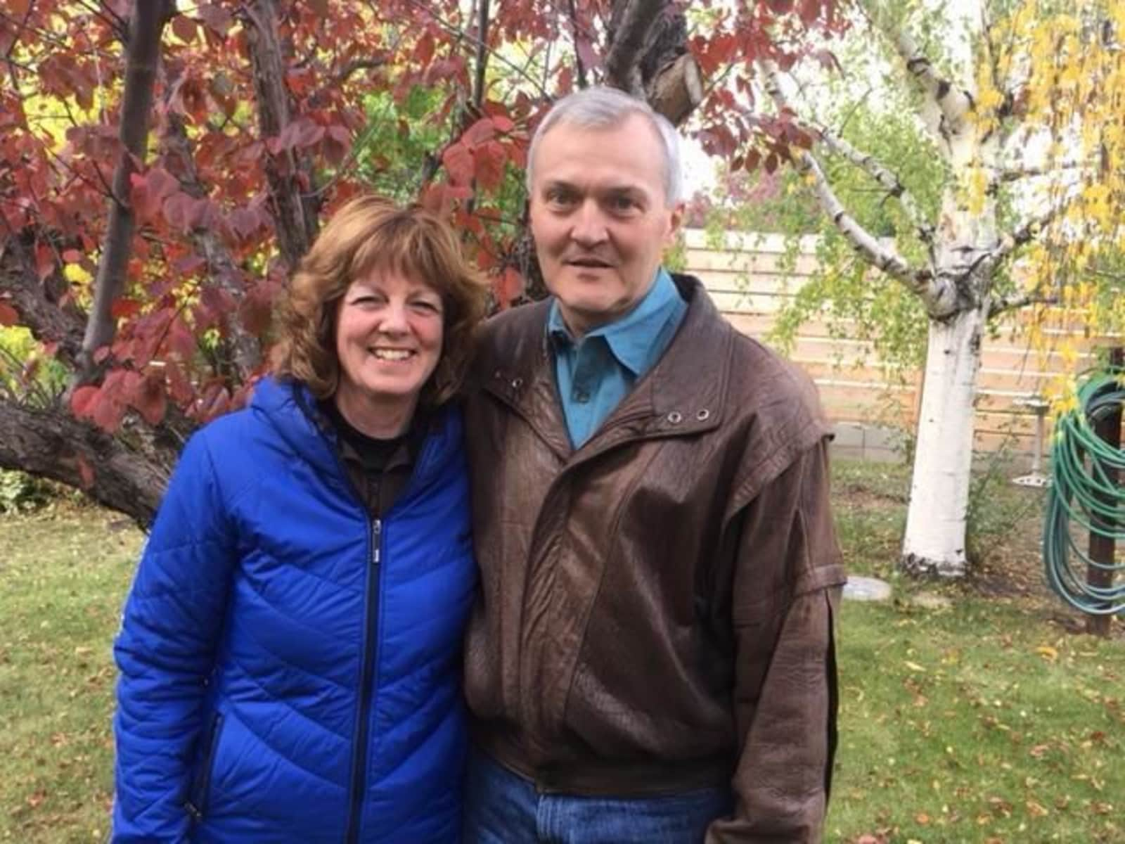 Muriel & Cody from Pincher Creek, Alberta, Canada