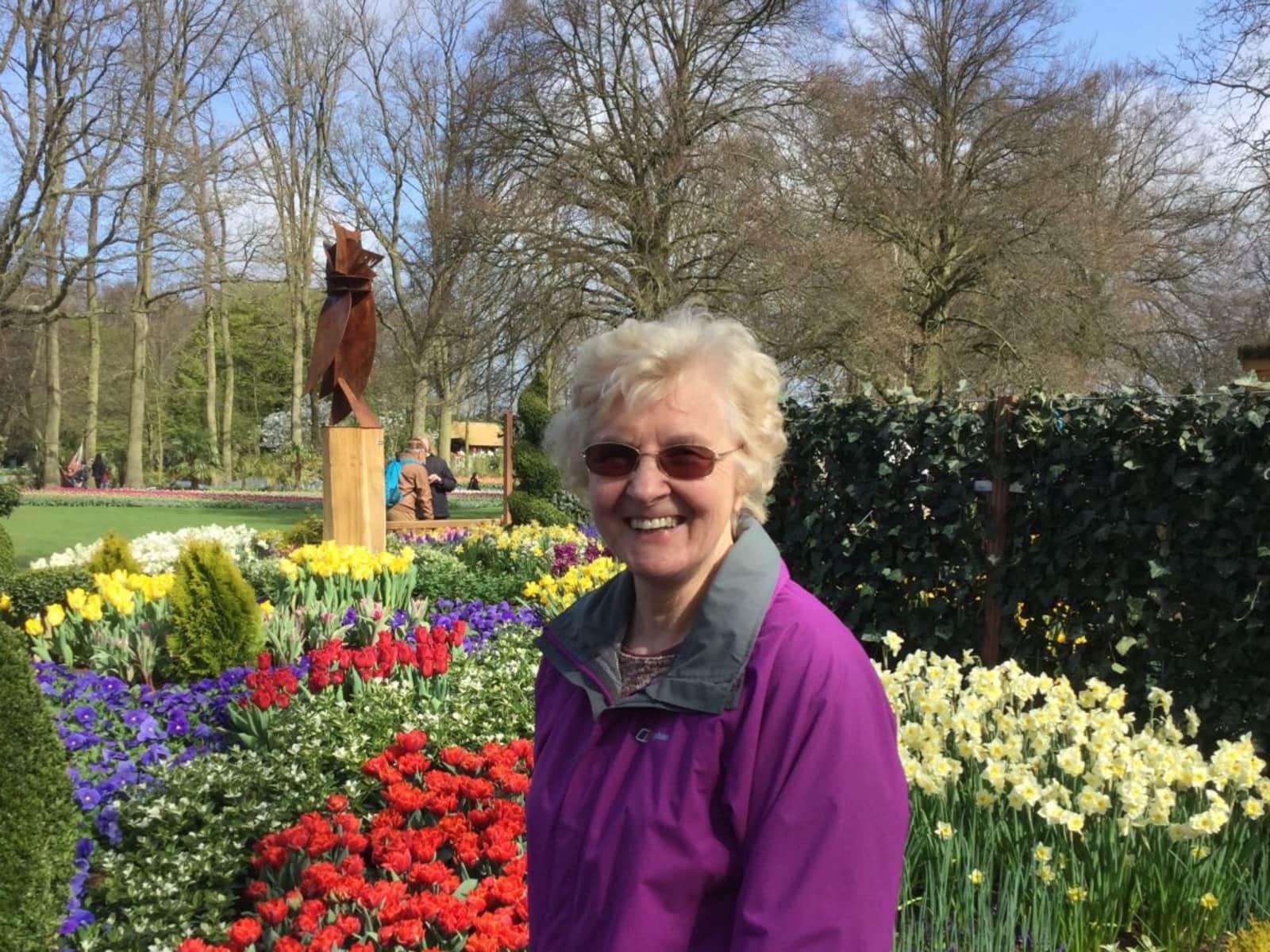 Patricia from Carlisle, United Kingdom