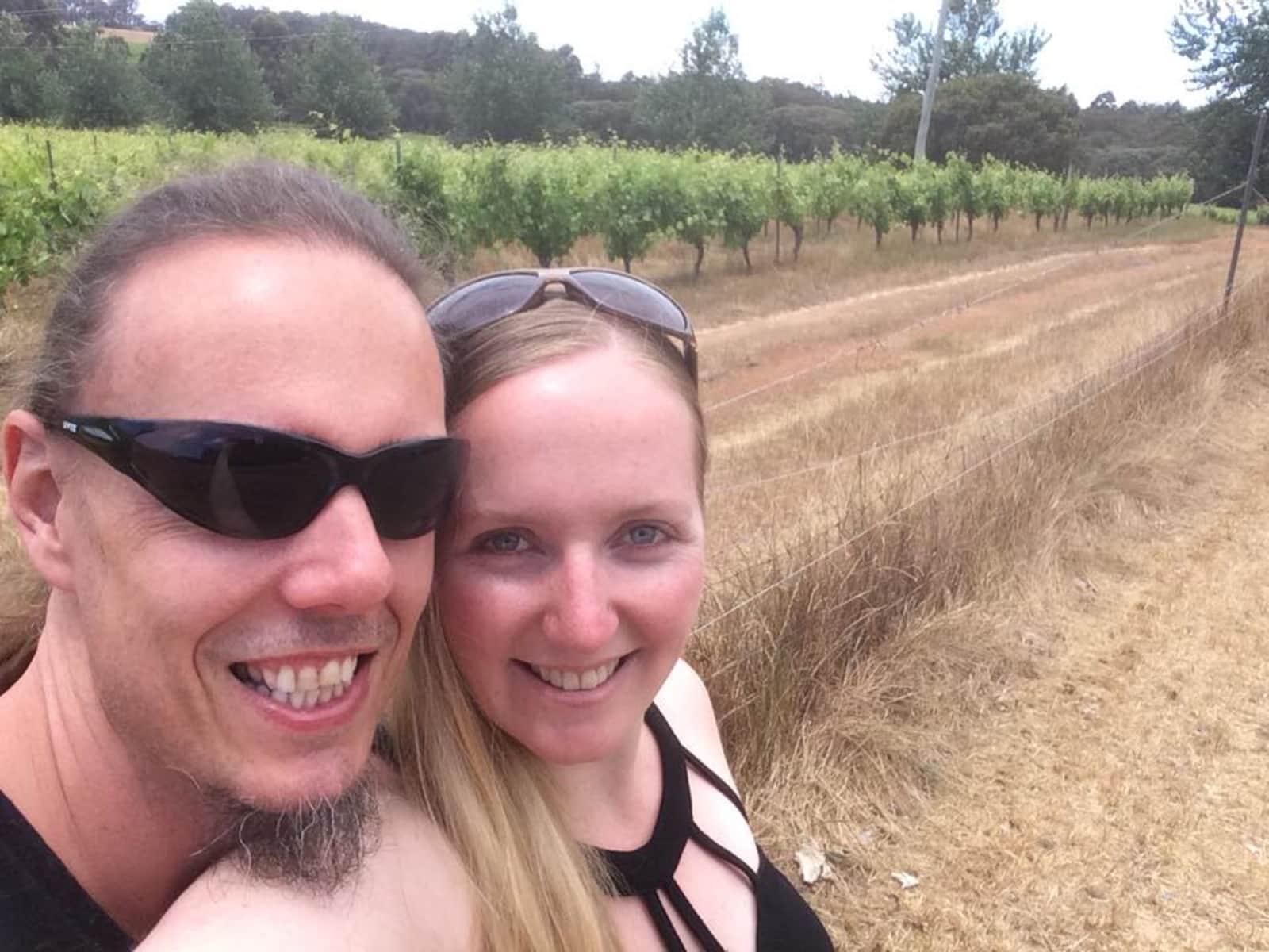 Jessica & Rhys from Cloverdale, Western Australia, Australia