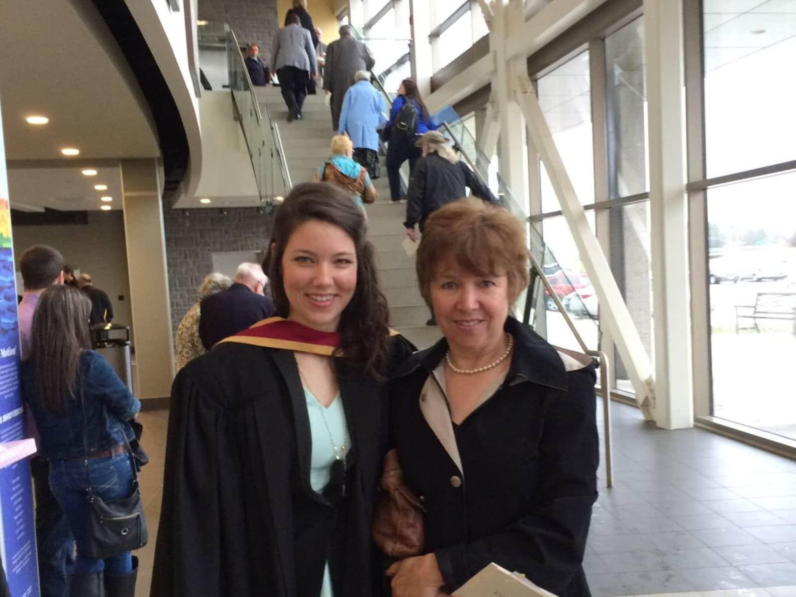 Julie & Sister, helen from Lindsay, Ontario, Canada