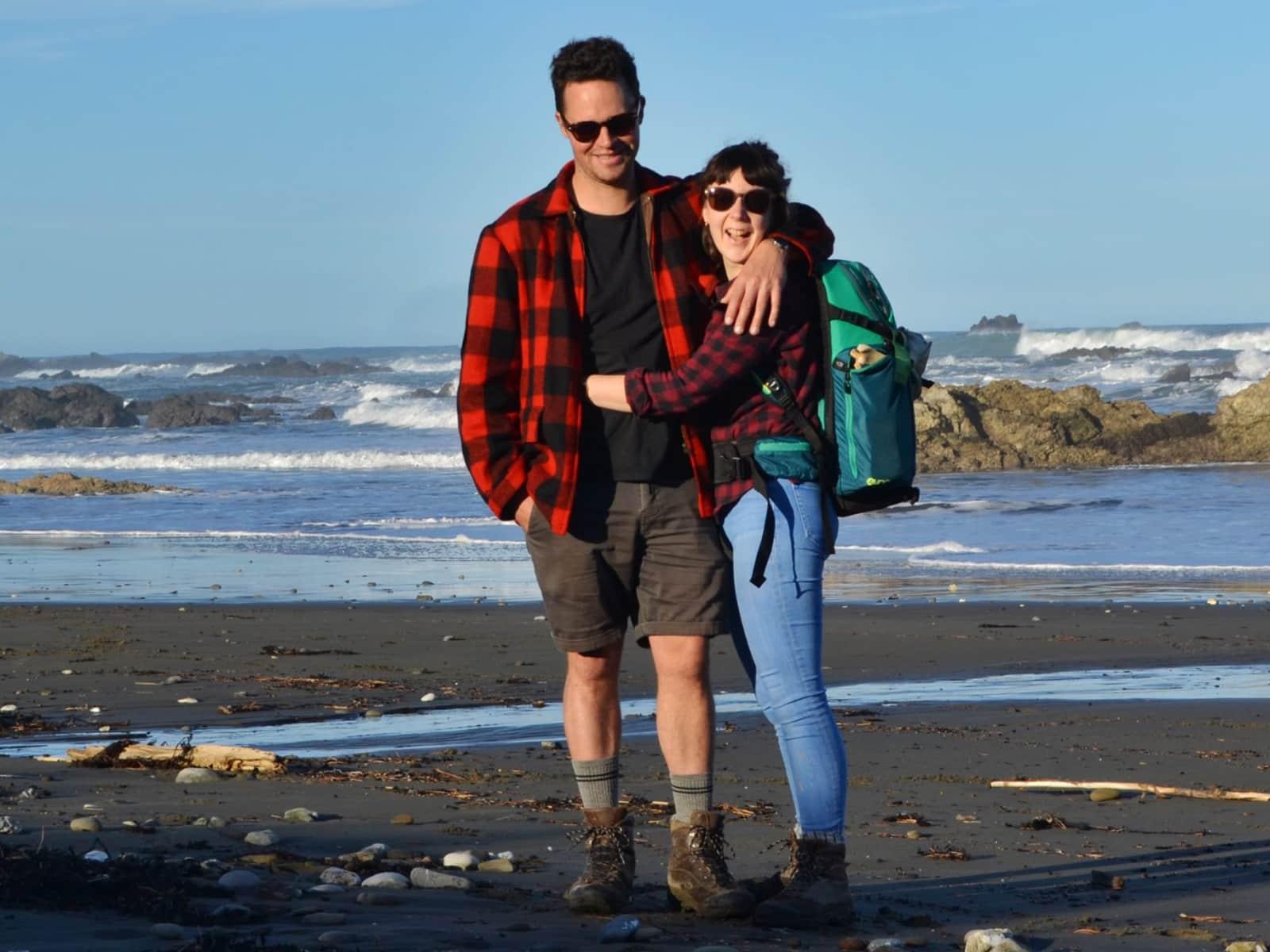 Sarah & Owen from Wellington, New Zealand