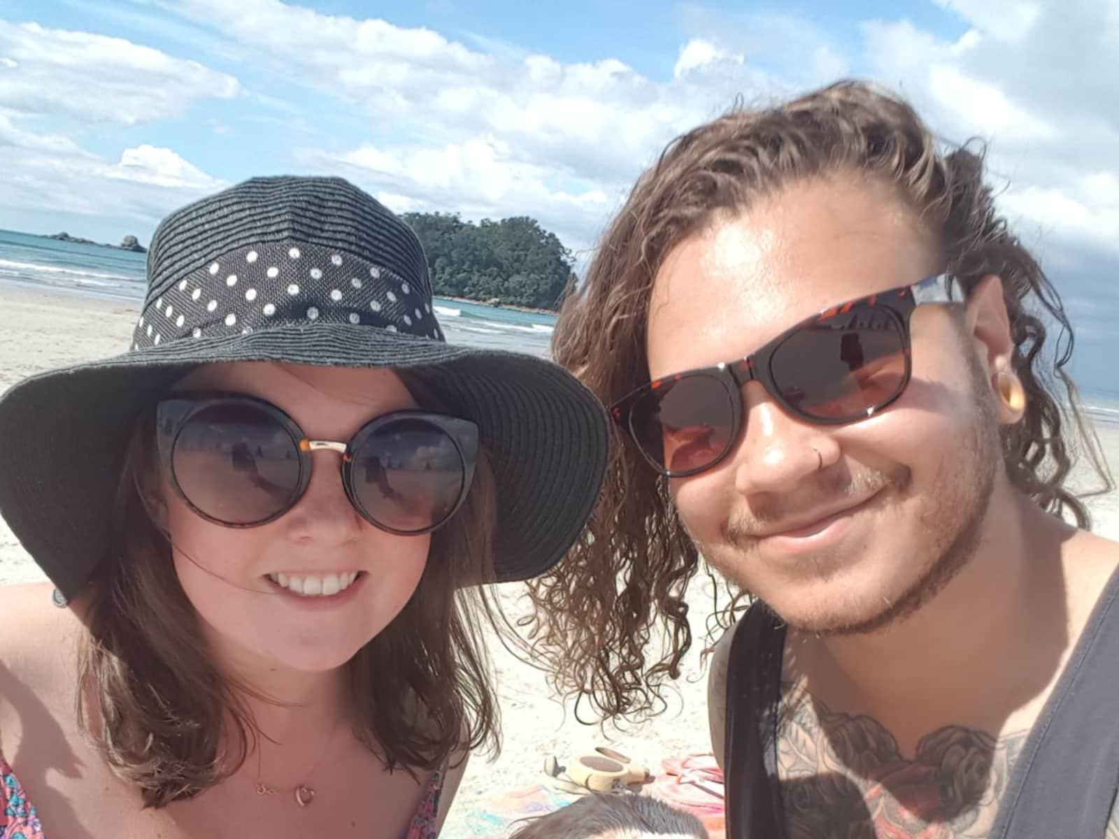 Jade & Damien from Auckland, New Zealand