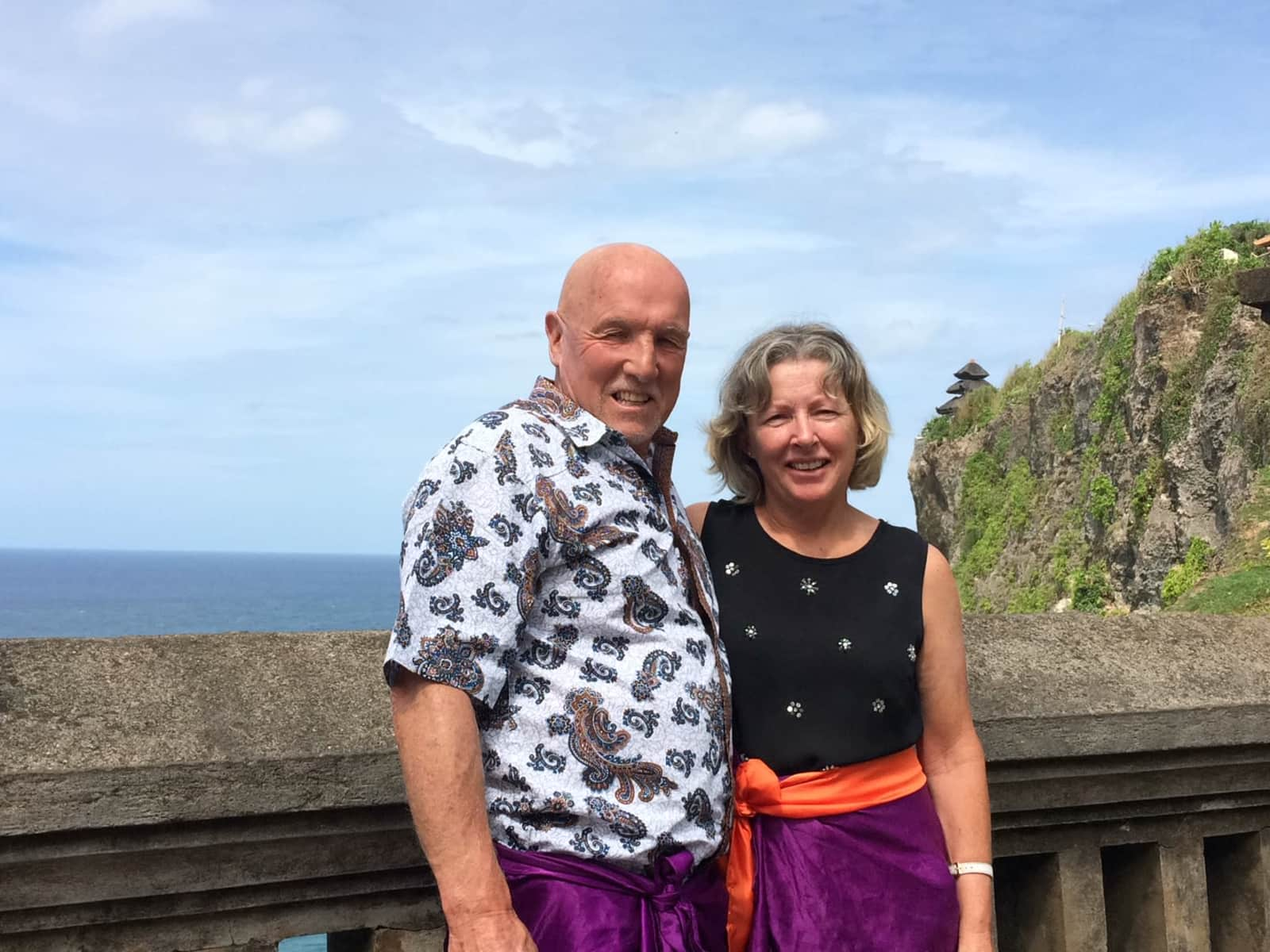 Robyn & Peter from Hamilton, New Zealand