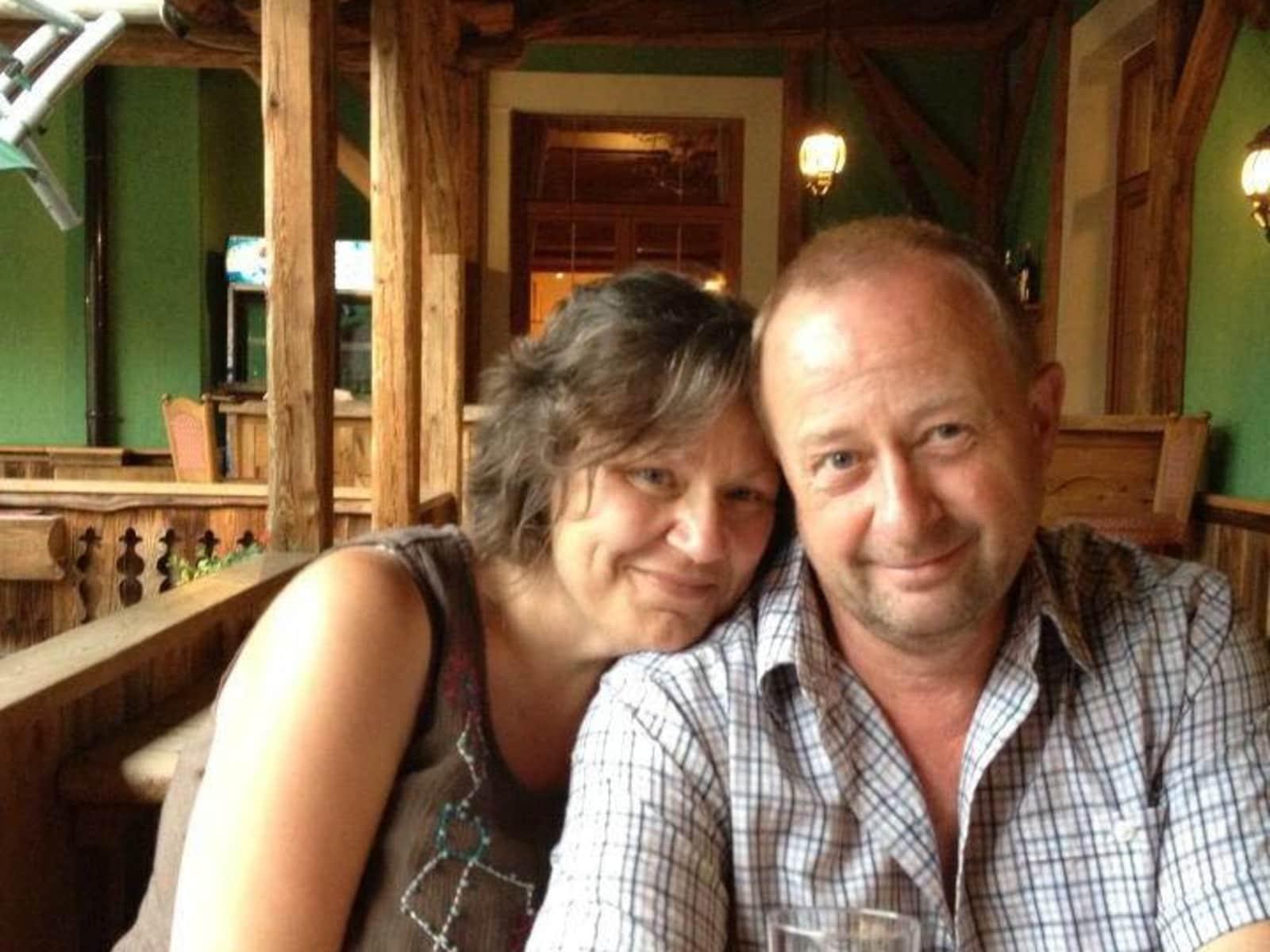 Sarah & Antony from Woking, United Kingdom