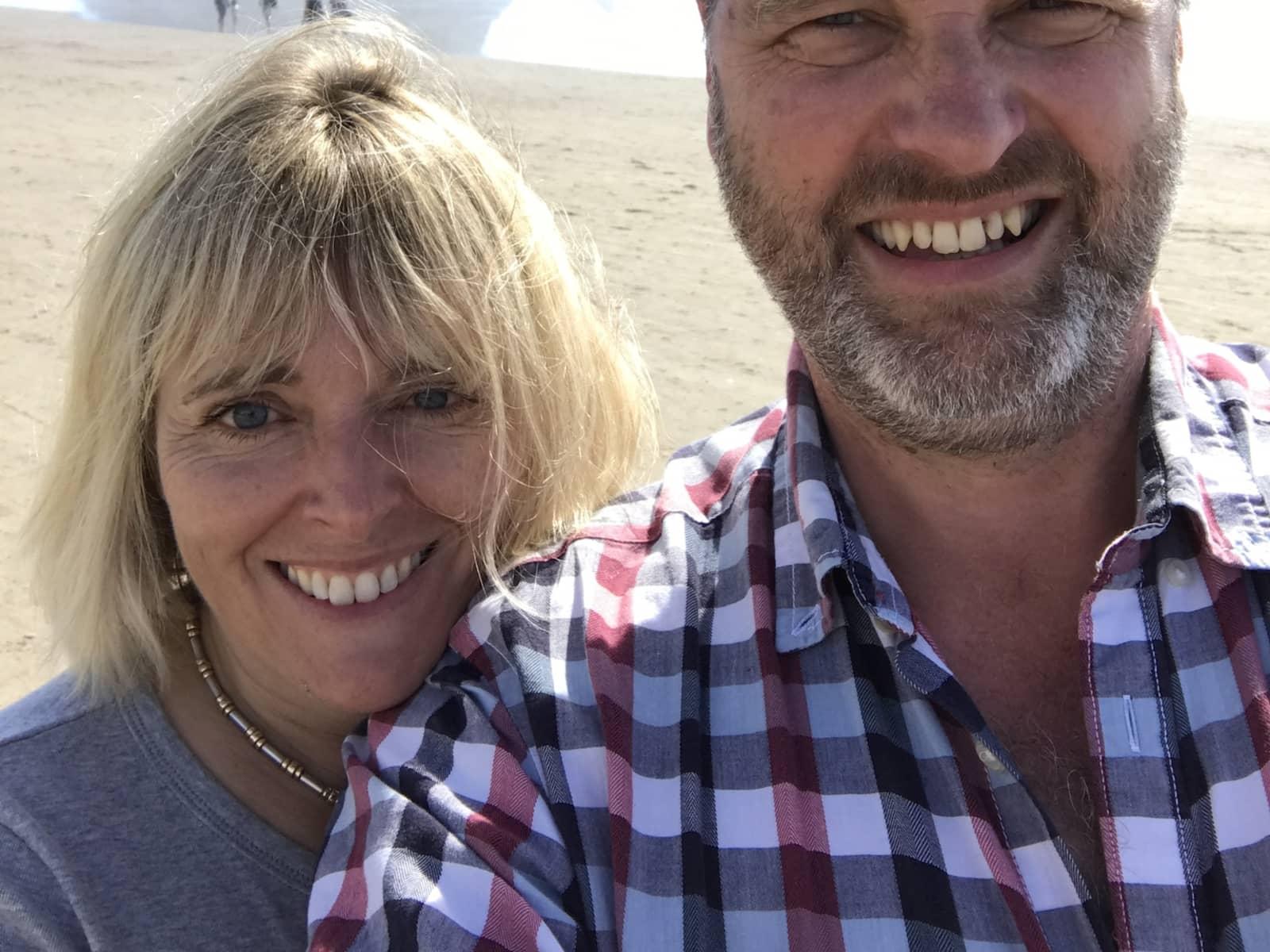 Karen & Rob from Ludlow, United Kingdom