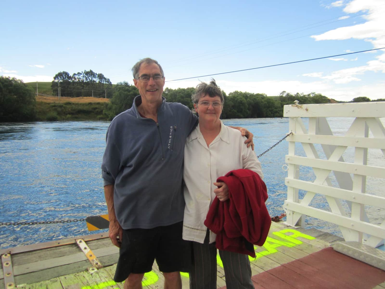 Colin & Vivienne from Dunedin, New Zealand
