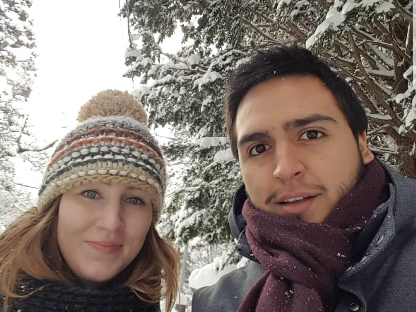 Elisa & Rodrigo from London, United Kingdom