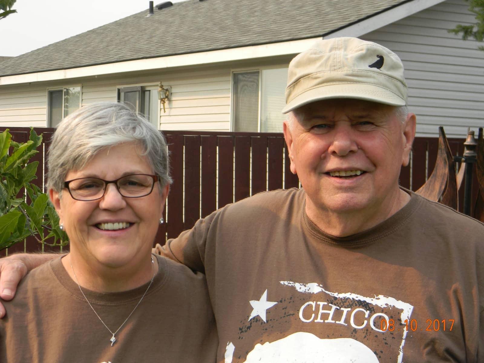 Nancy & Steve from Chico, California, United States