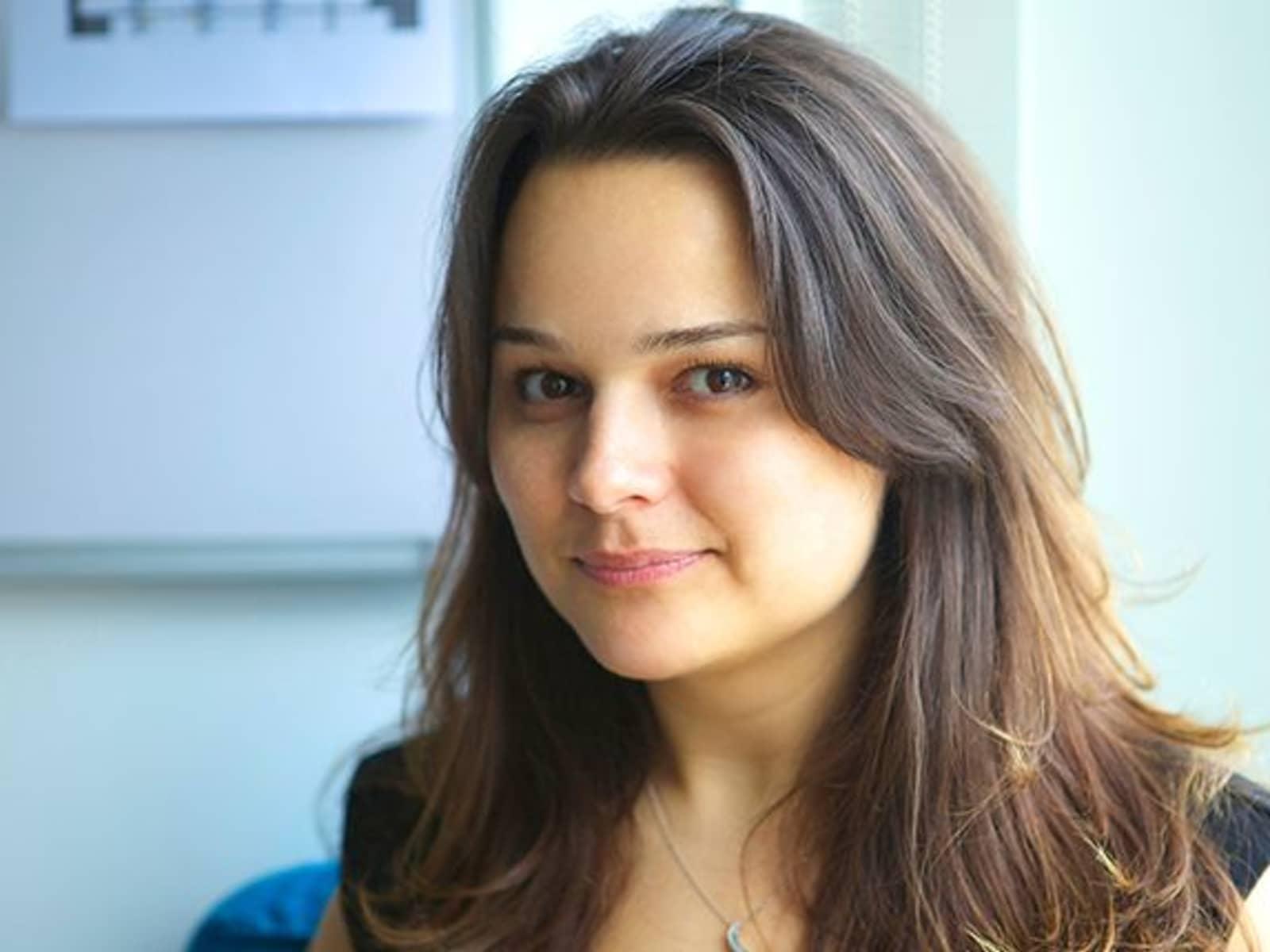 Kathryn from Dubai International Financial Centre, United Arab Emirates