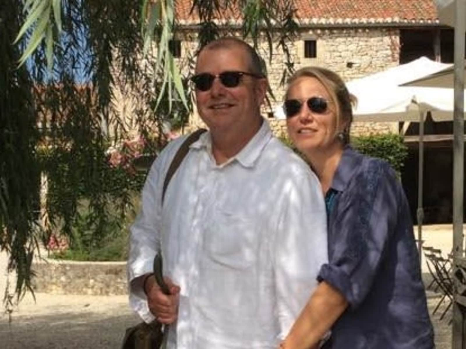 Astrid & Colin from Lauzerte, France