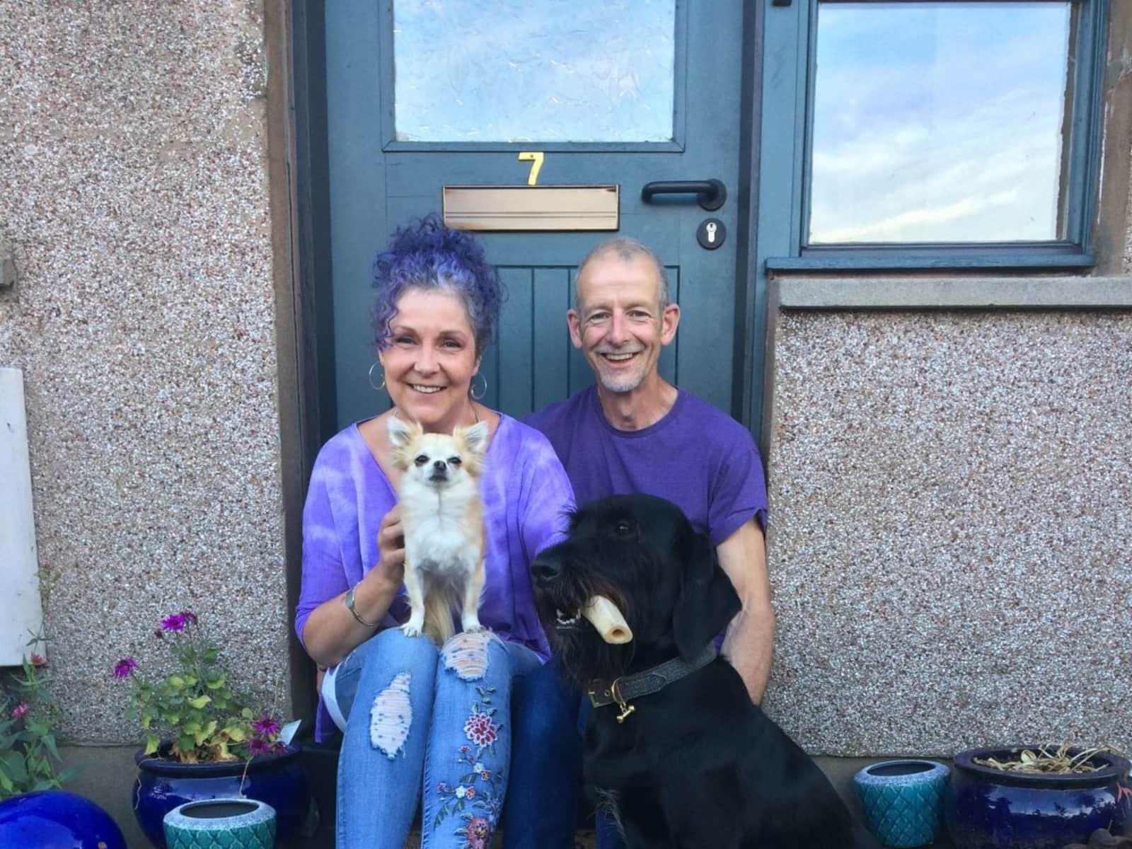 Judi & Colin from Perth, United Kingdom