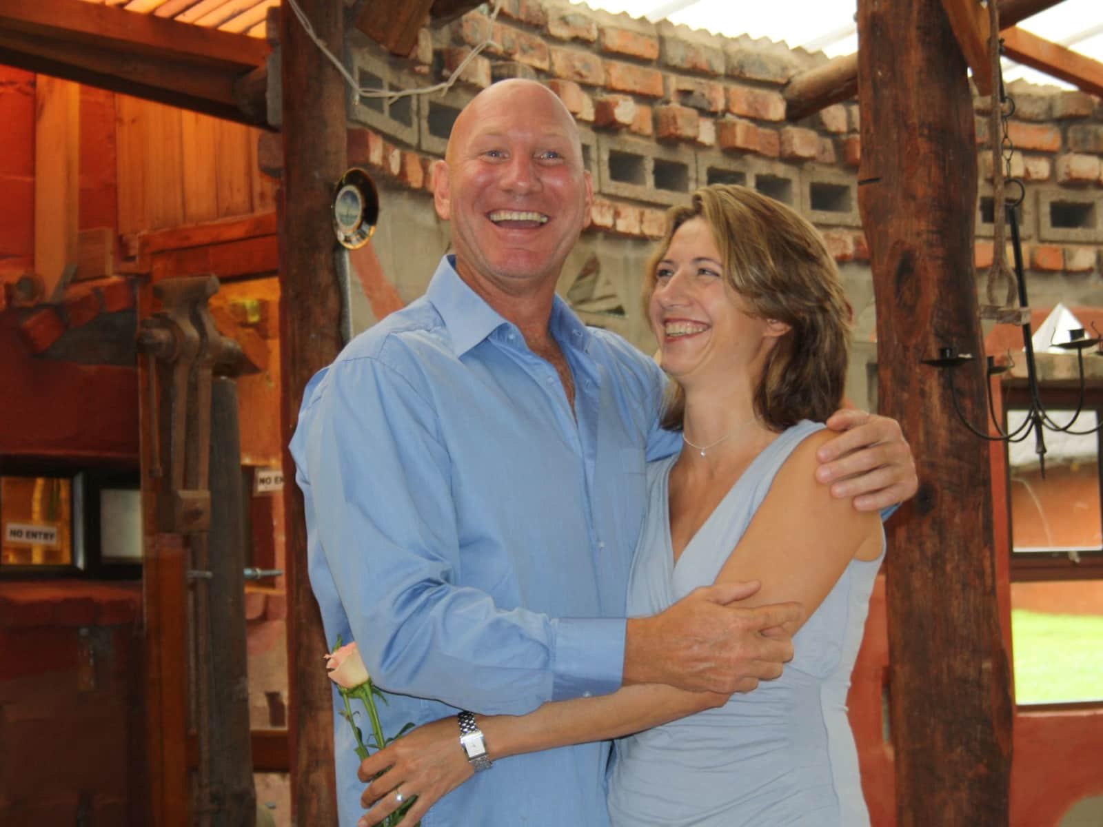 Tessa & Brian from East London, South Africa