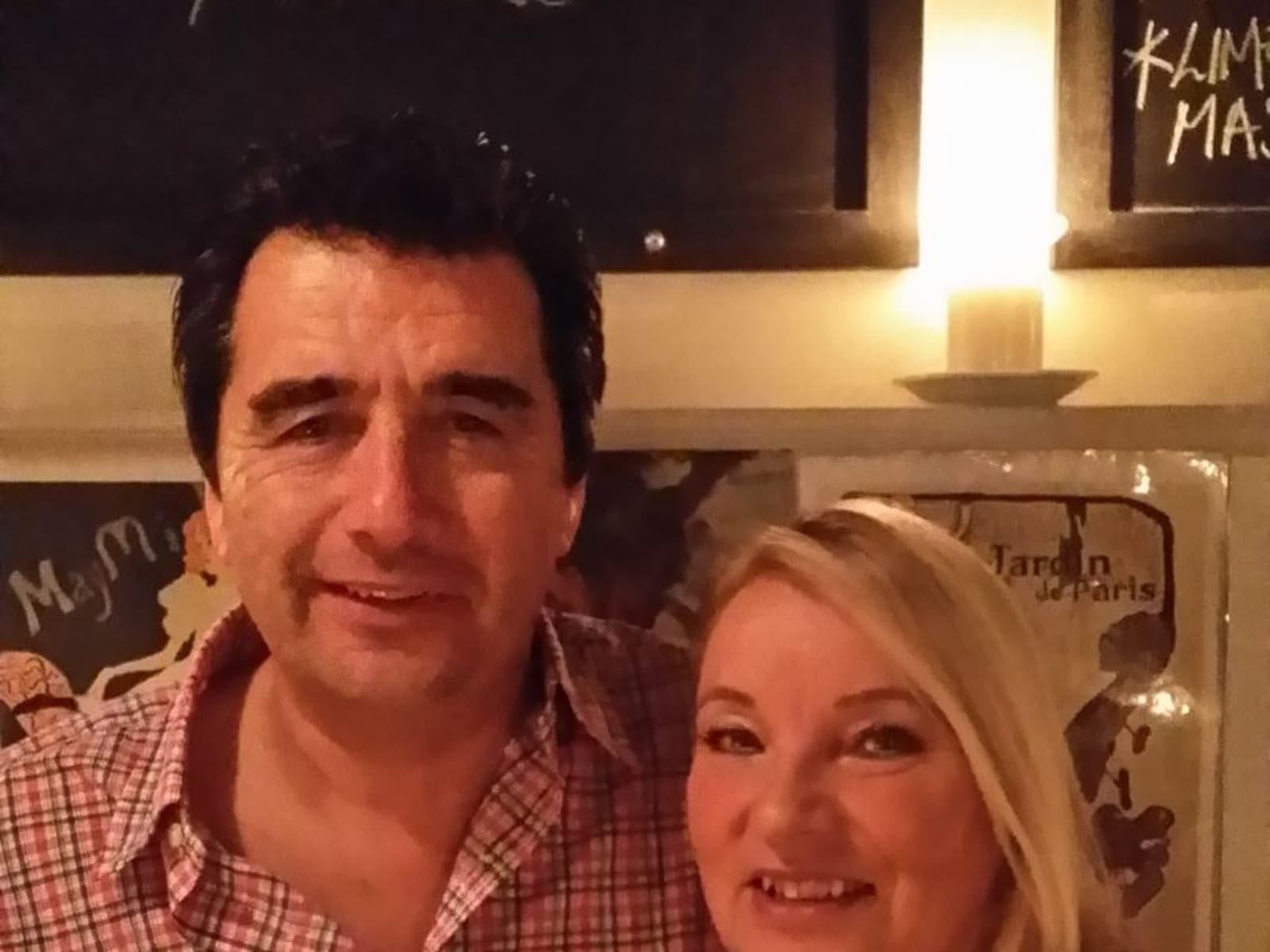 Hazel & Tim from Perth, United Kingdom