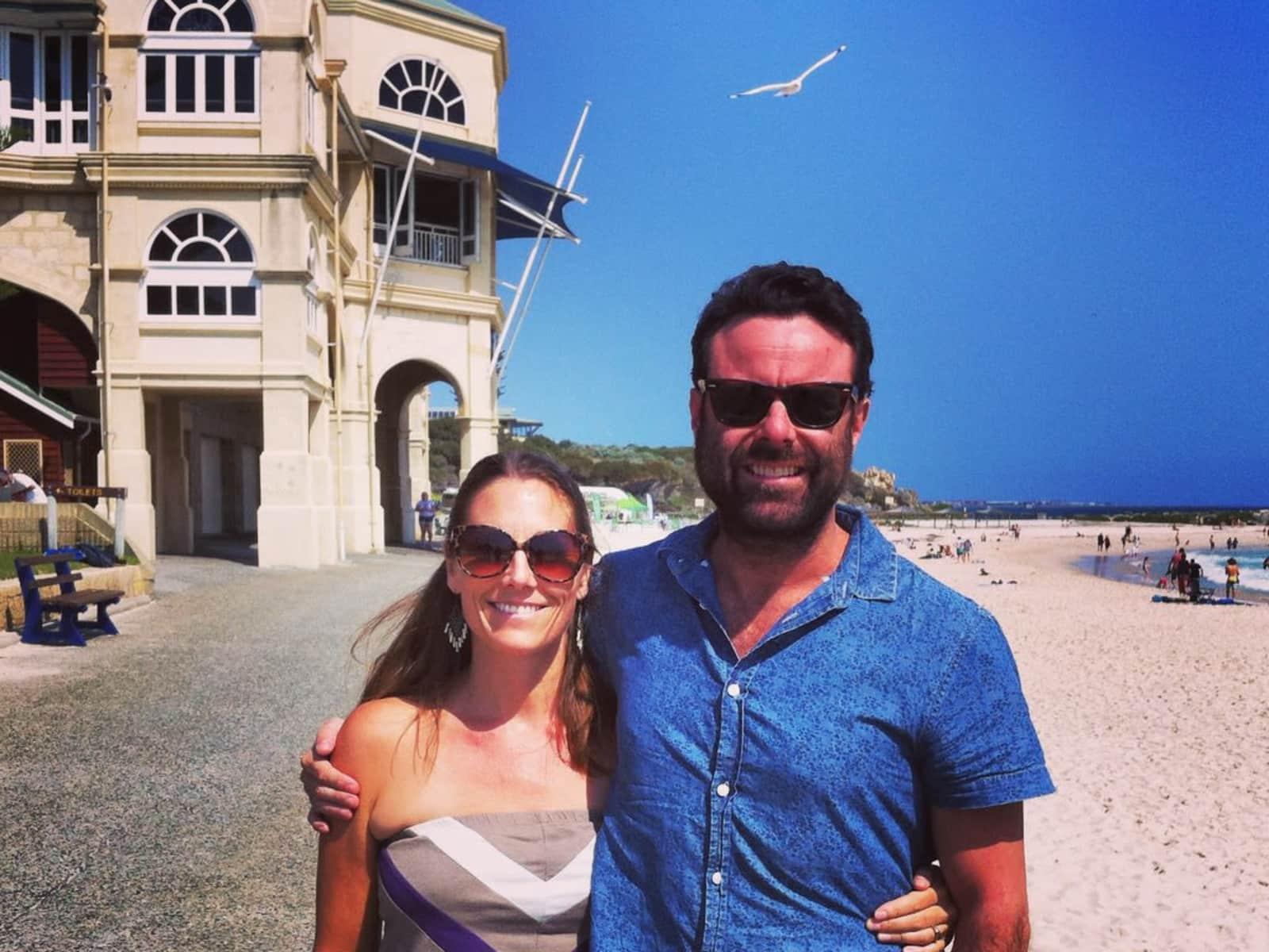 Shelley & Tom from Adelaide, South Australia, Australia